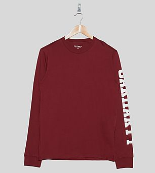 Carhartt WIP Long-Sleeved College T-Shirt