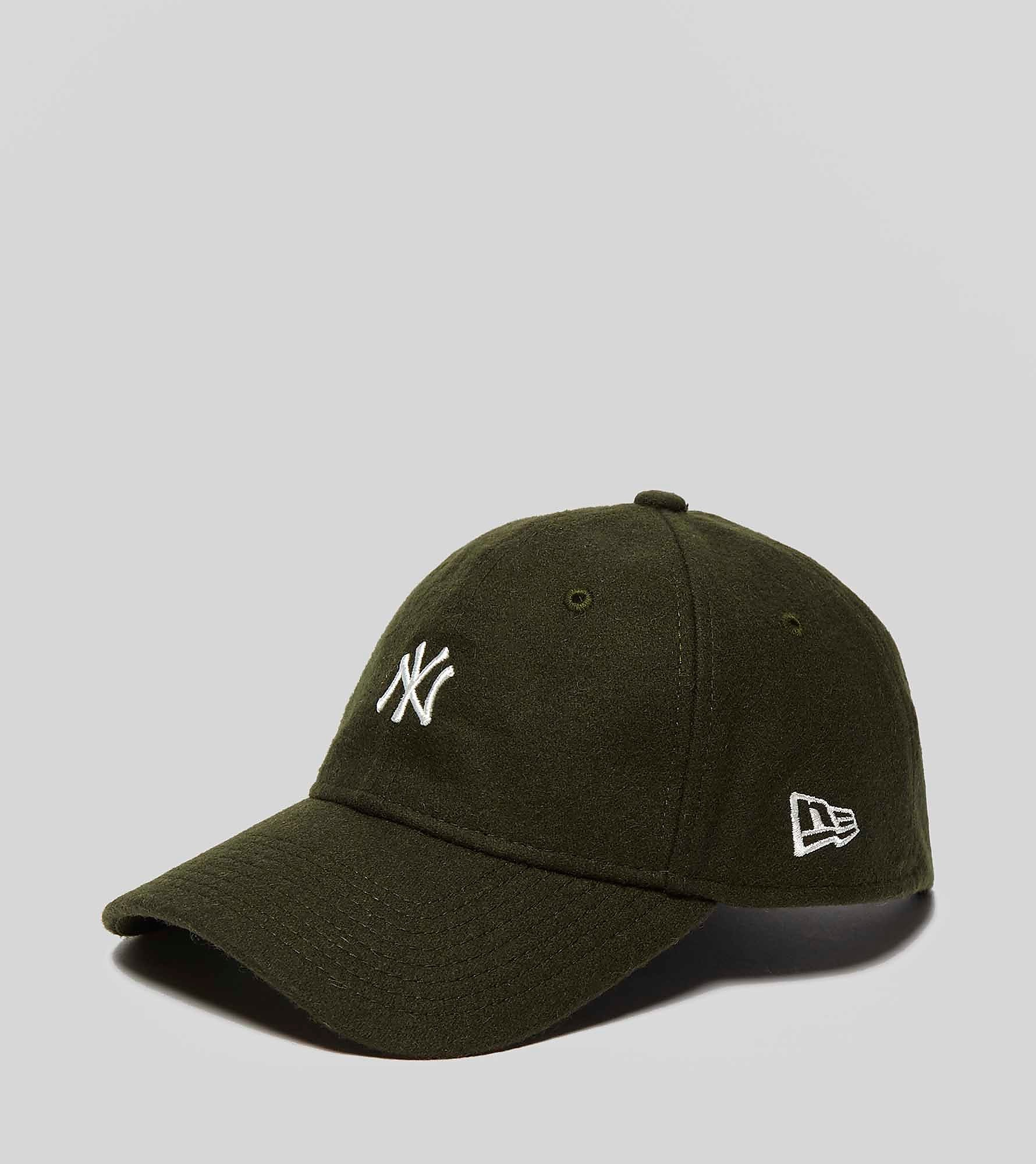 New Era 9TWENTY MLB Leather Strapback Wool Cap