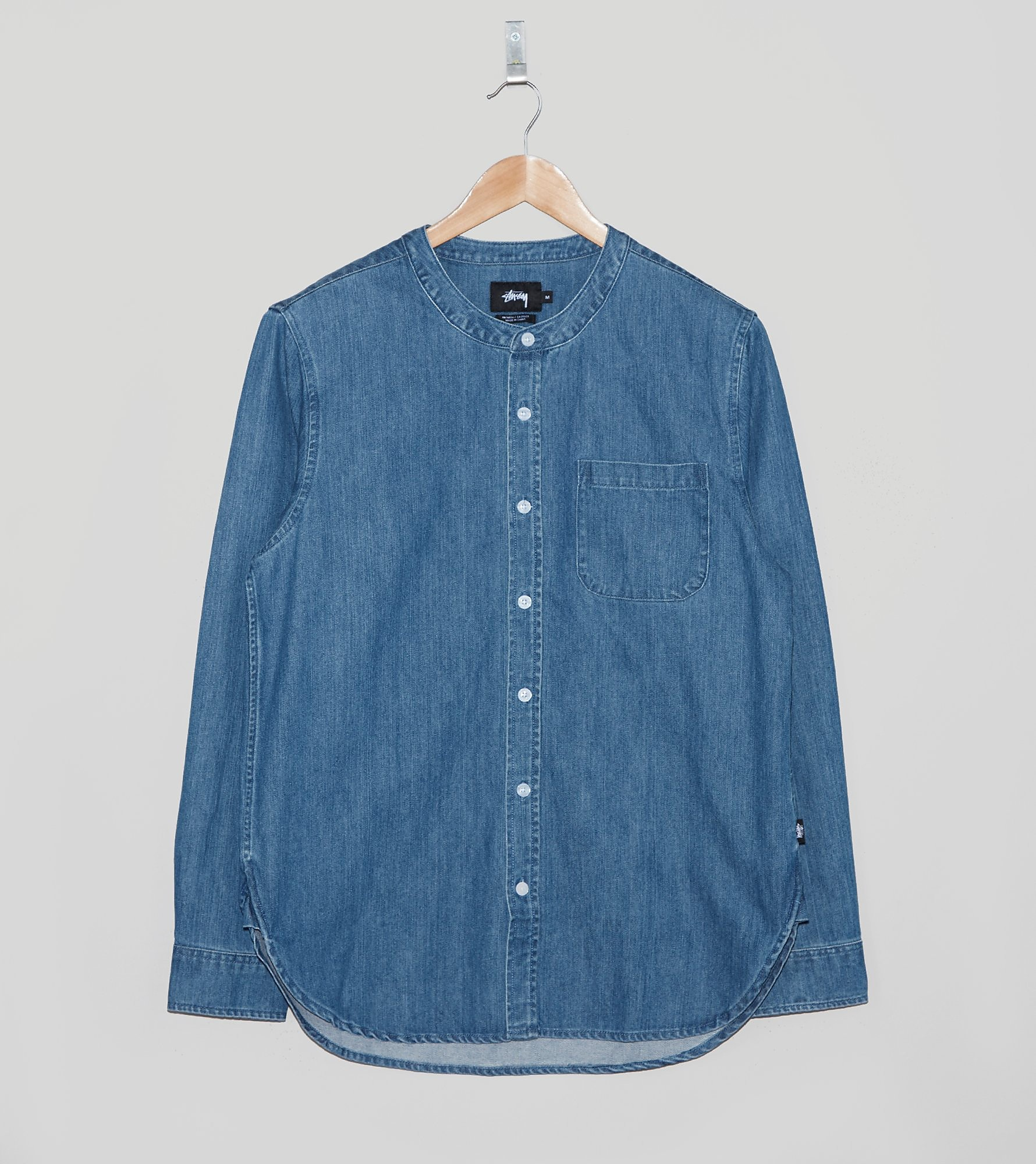 Stussy Denim Grandad Shirt