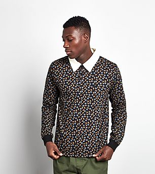 Stussy Paisley Rugby Shirt