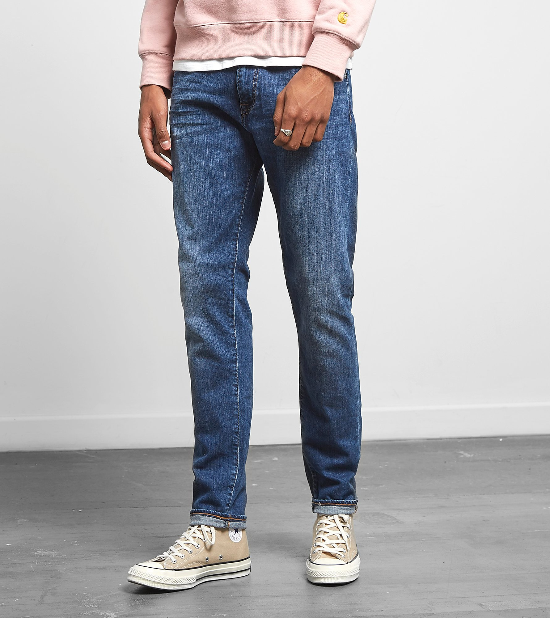 Edwin ED-85 Slim Tapered Drop Crotch Jeans