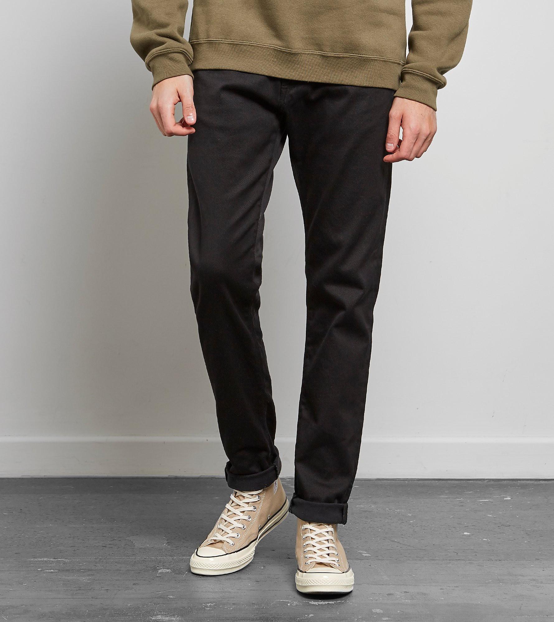 Edwin ED-85 Slim Tapered Drop Crotch Jeans