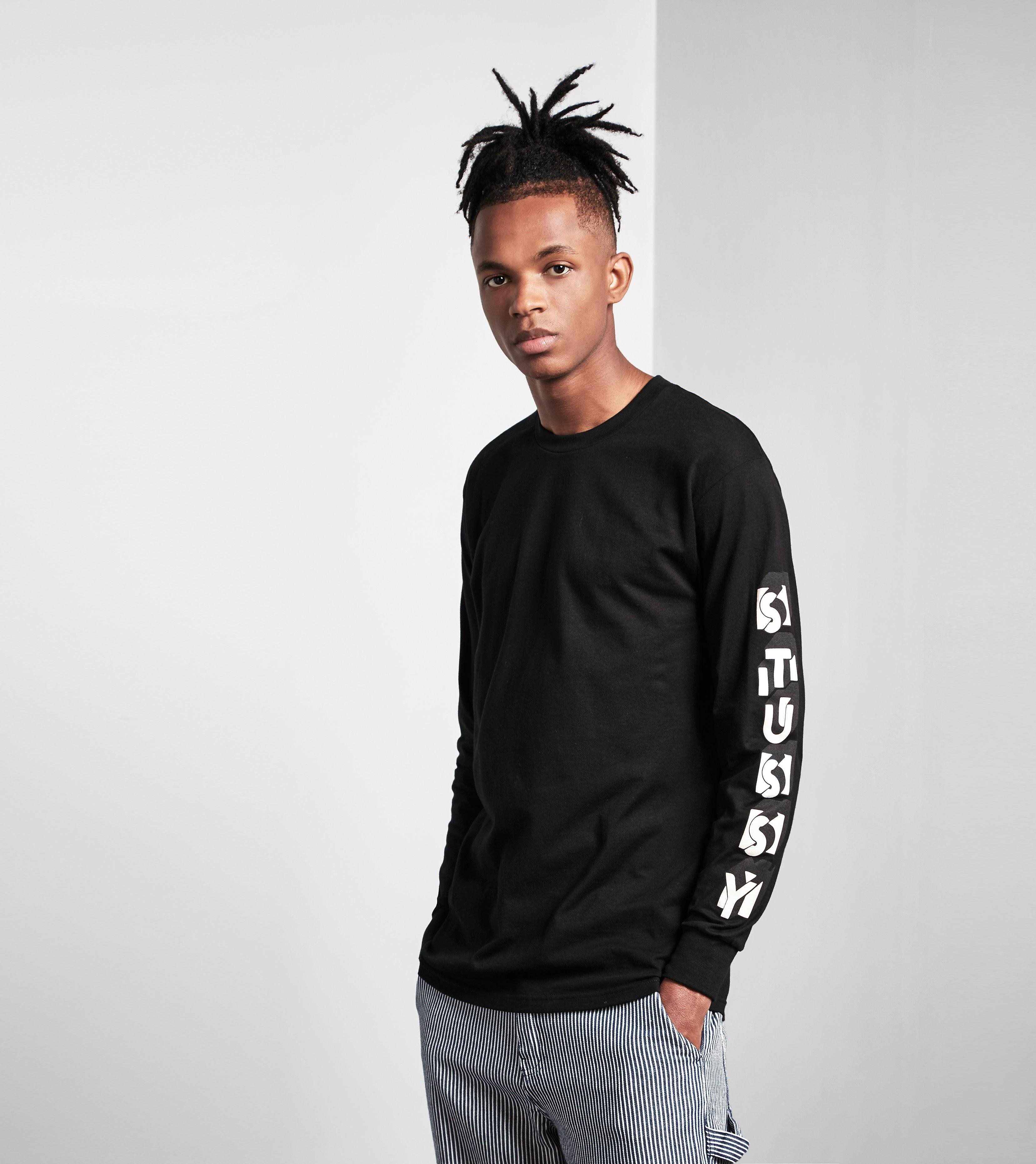 Stussy Long-Sleeved Blocks T-Shirt