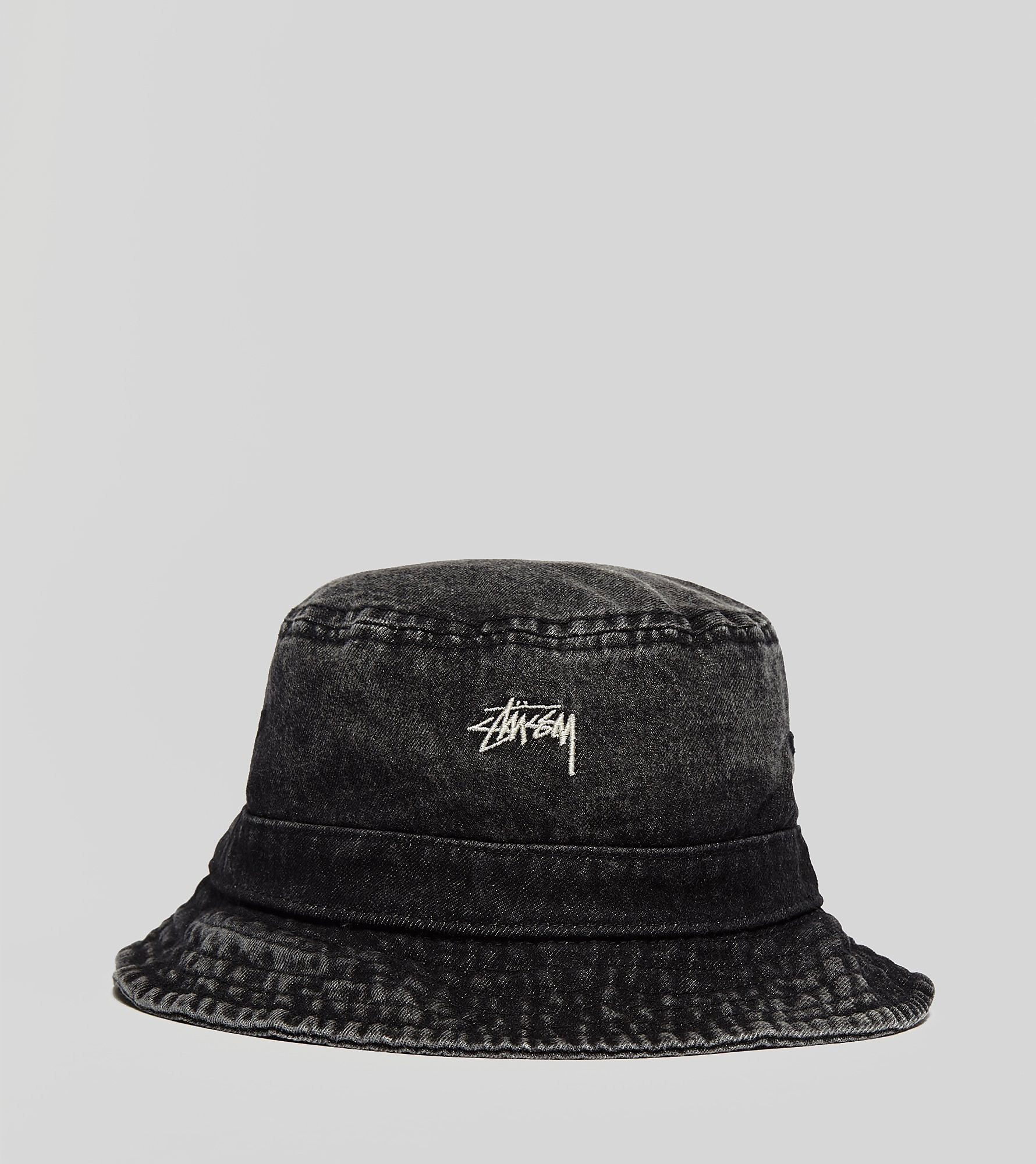 Stussy Washed Denim Bucket Hat