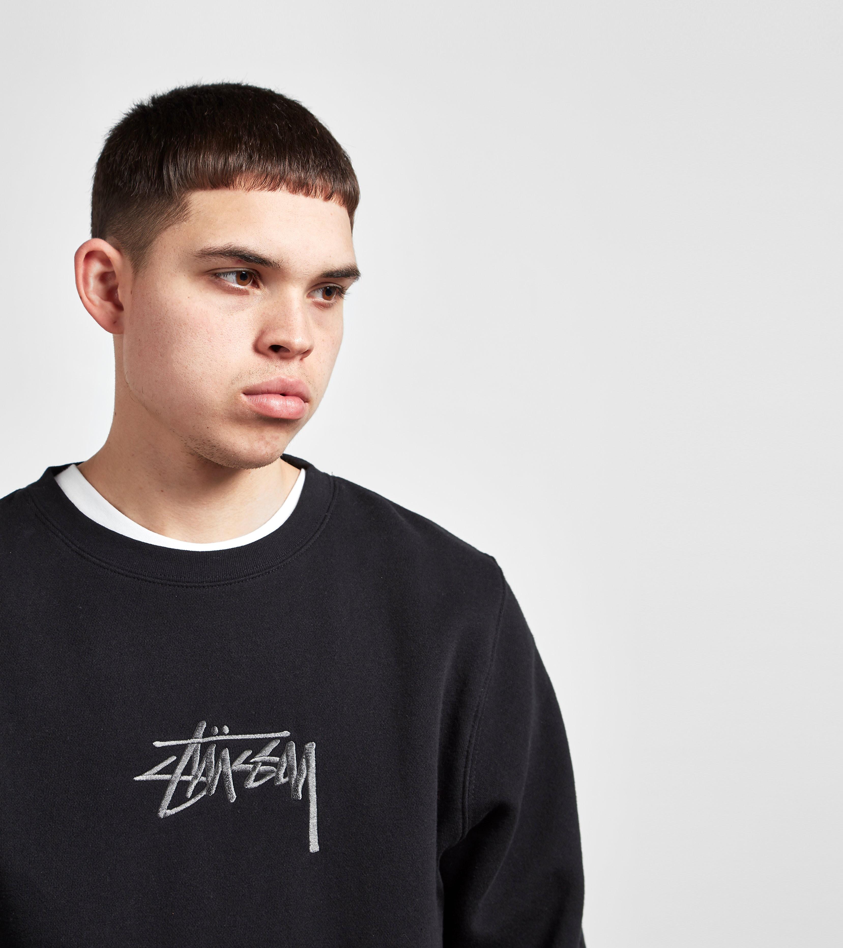 Stussy New Stock Crew Sweatshirt