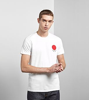 Edwin Red Dot Logo 2 T-Shirt