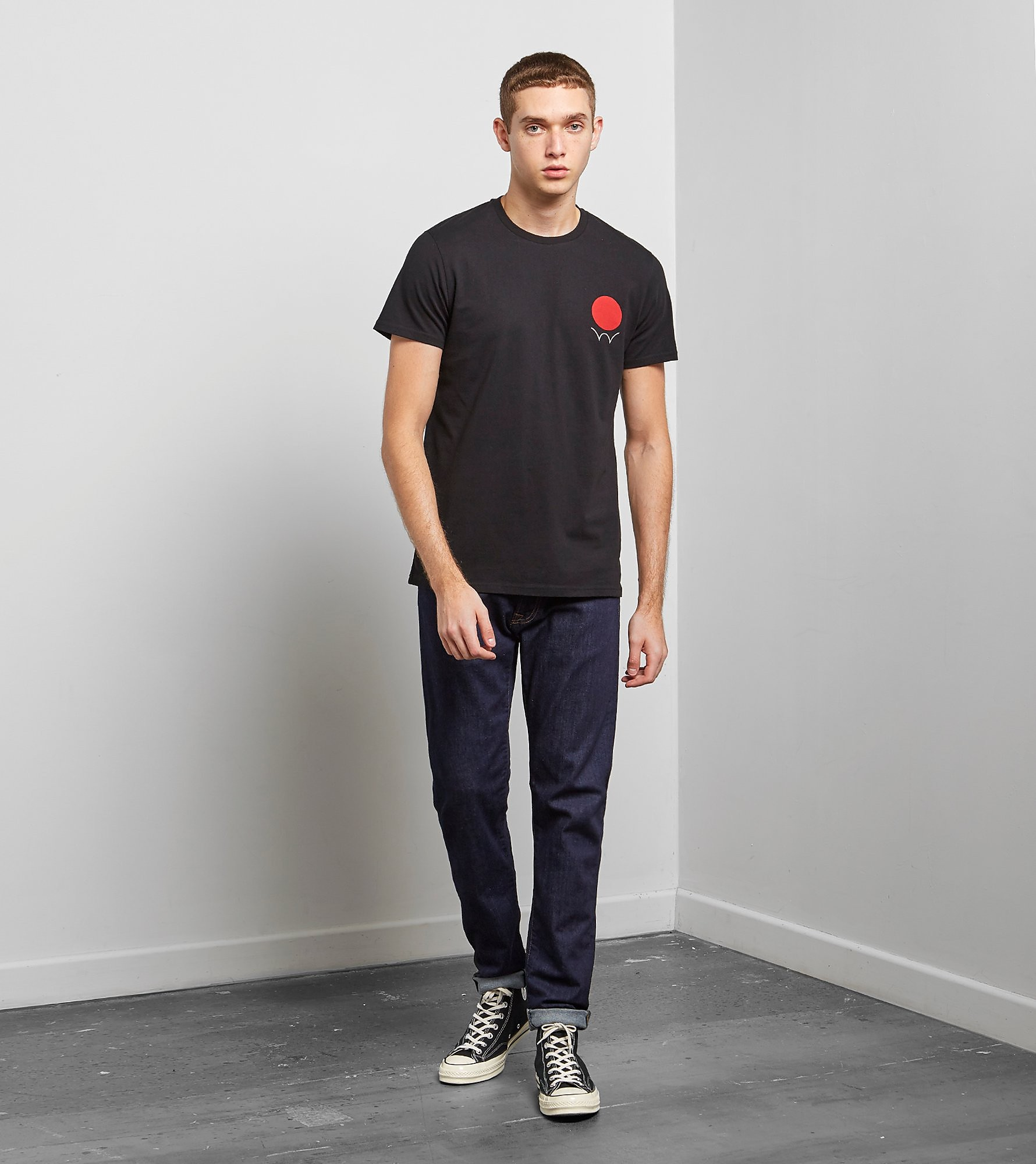Edwin Red Dot Logo 2 Short Sleeve T-Shirt