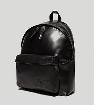 Eastpak Padded Leather Backpack