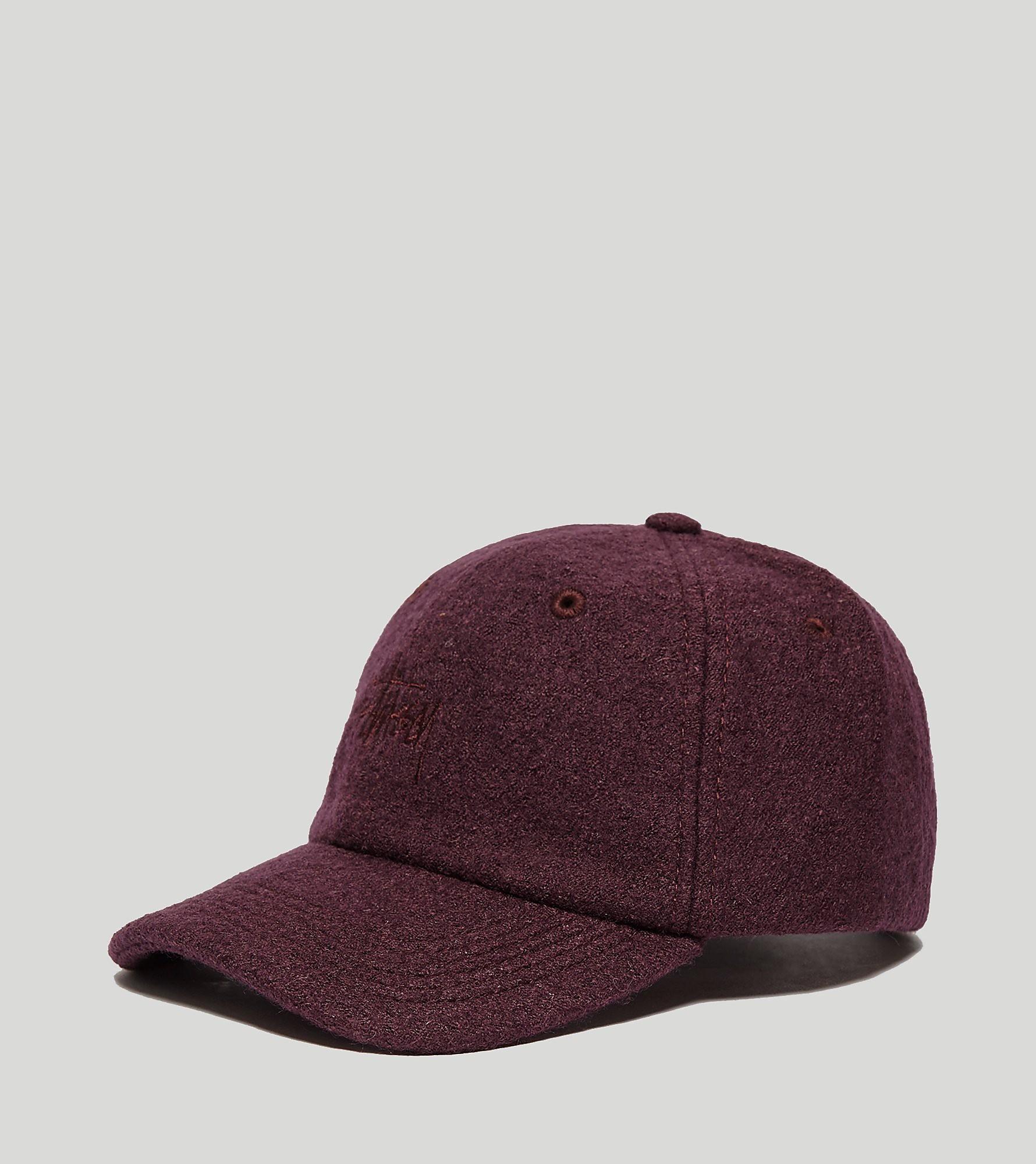 Stussy Boiled Wool Snapback Cap