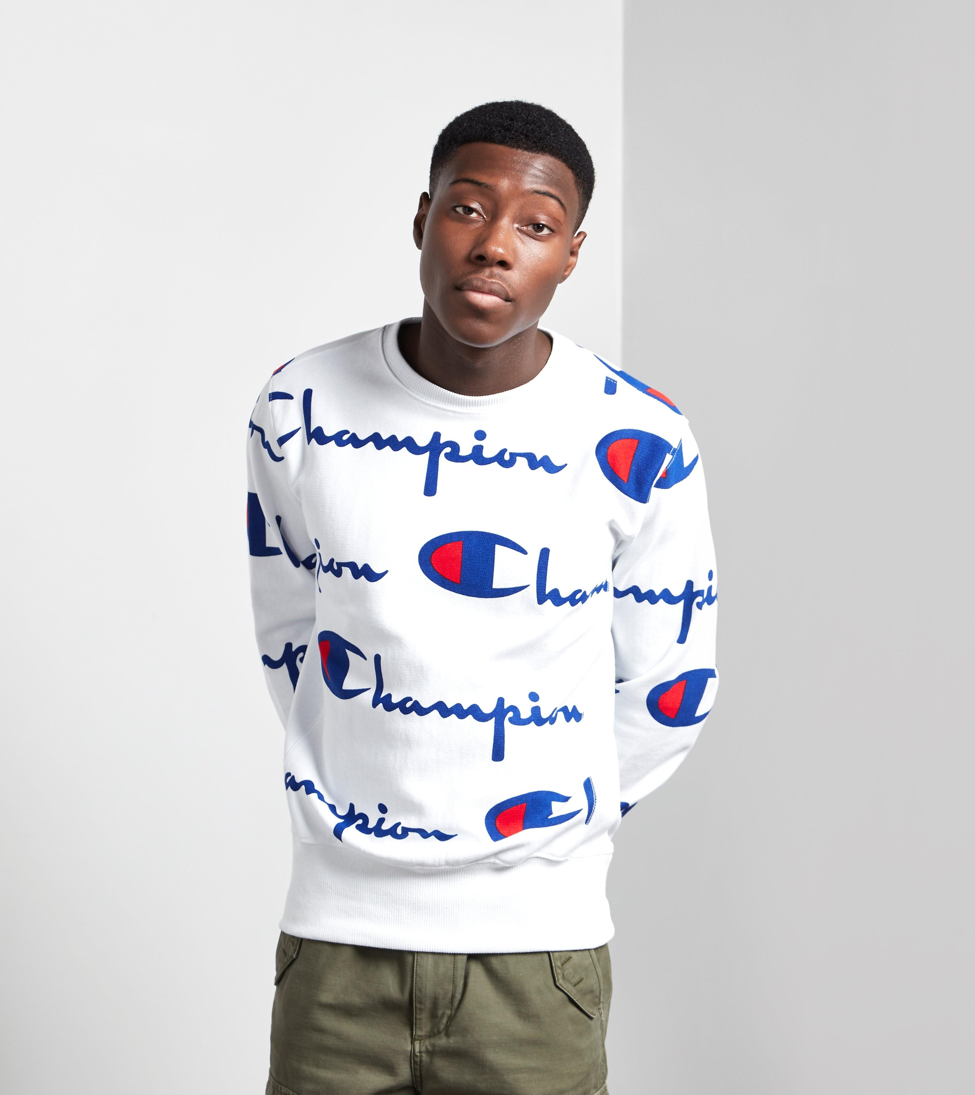 Champion AOP Crew Sweatshirt