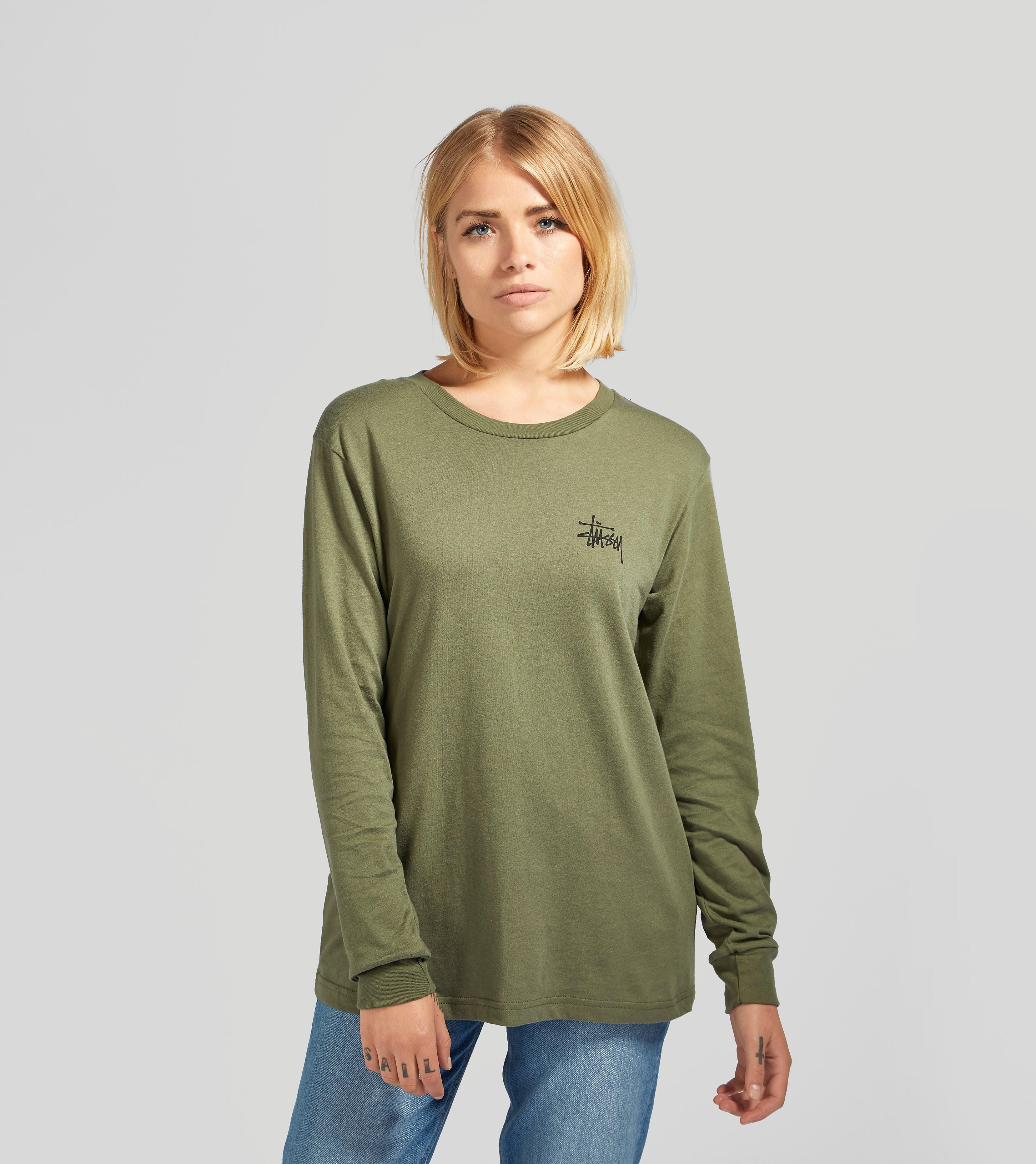 Stussy Long-Sleeved Basic Logo T-Shirt