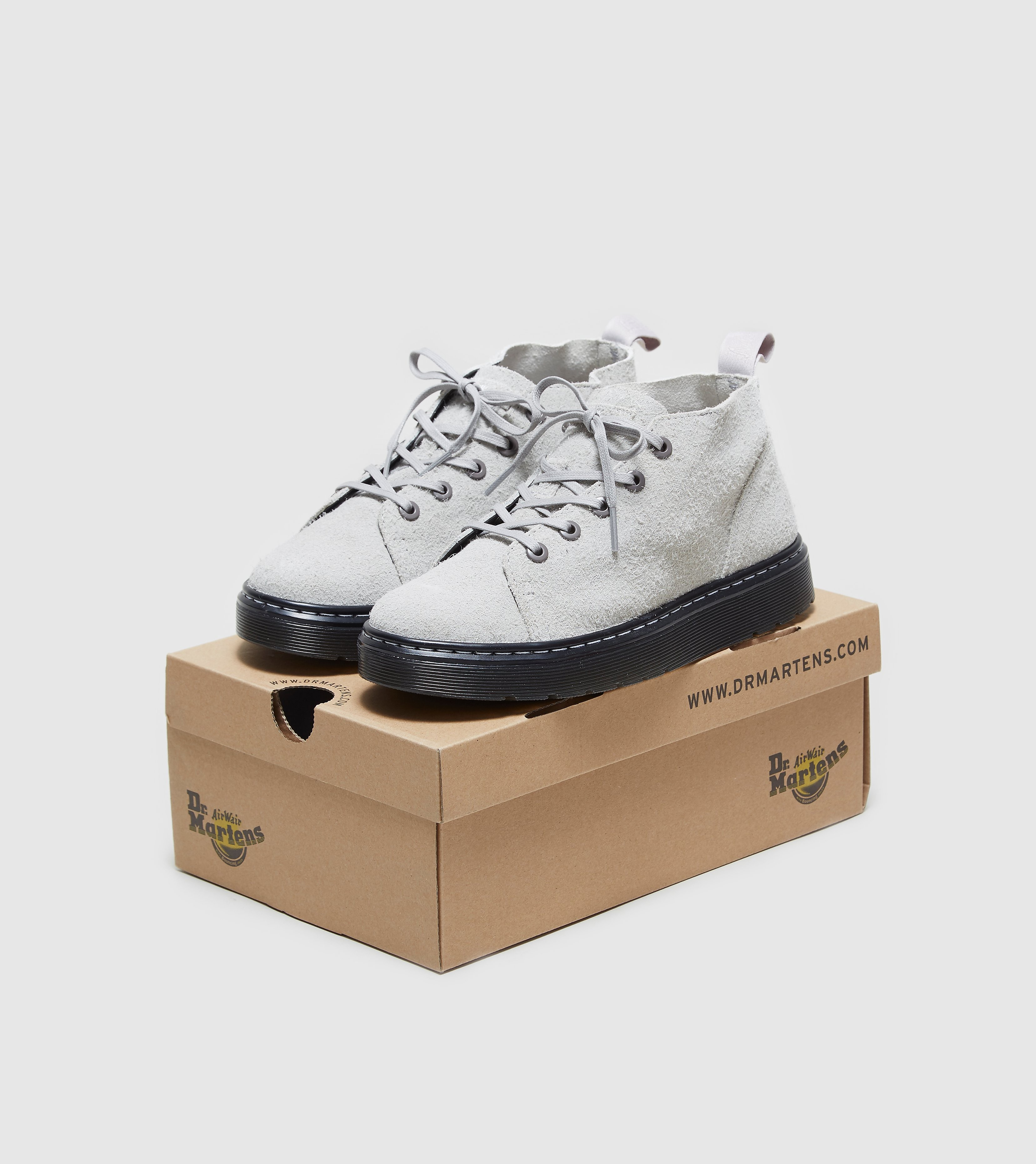 DR. MARTENS Baynes Wooly Suede Boots Women's