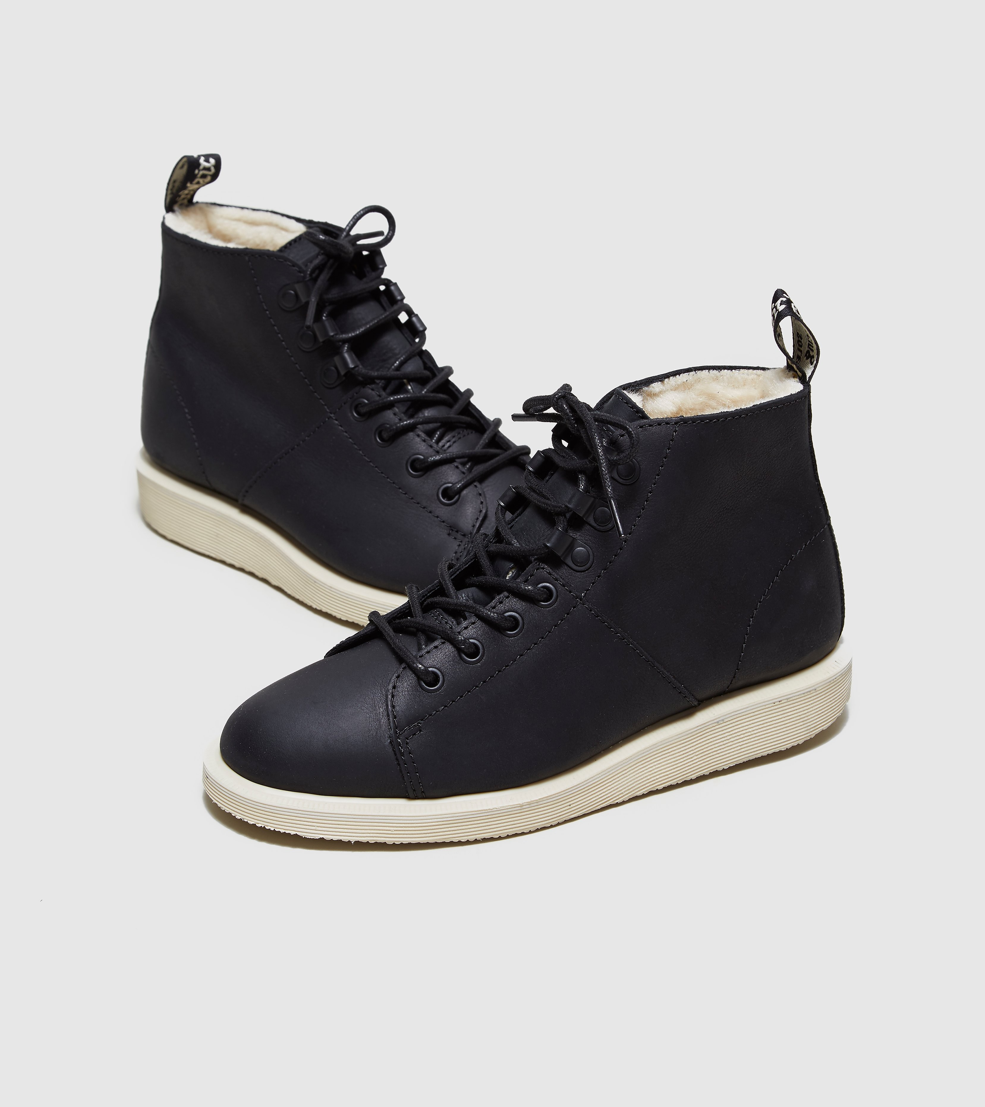 DR. MARTENS Fur Lined Les Wyoming Boots Women's