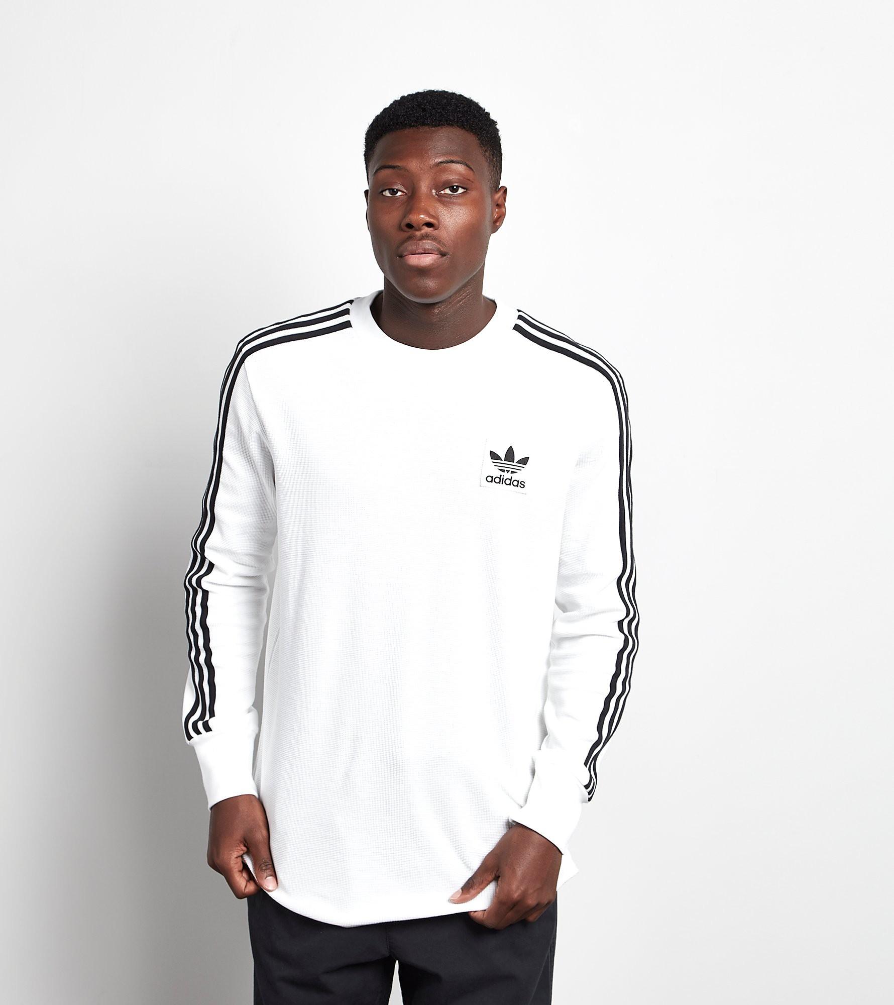 adidas Originals Long-Sleeved Waffle T-Shirt
