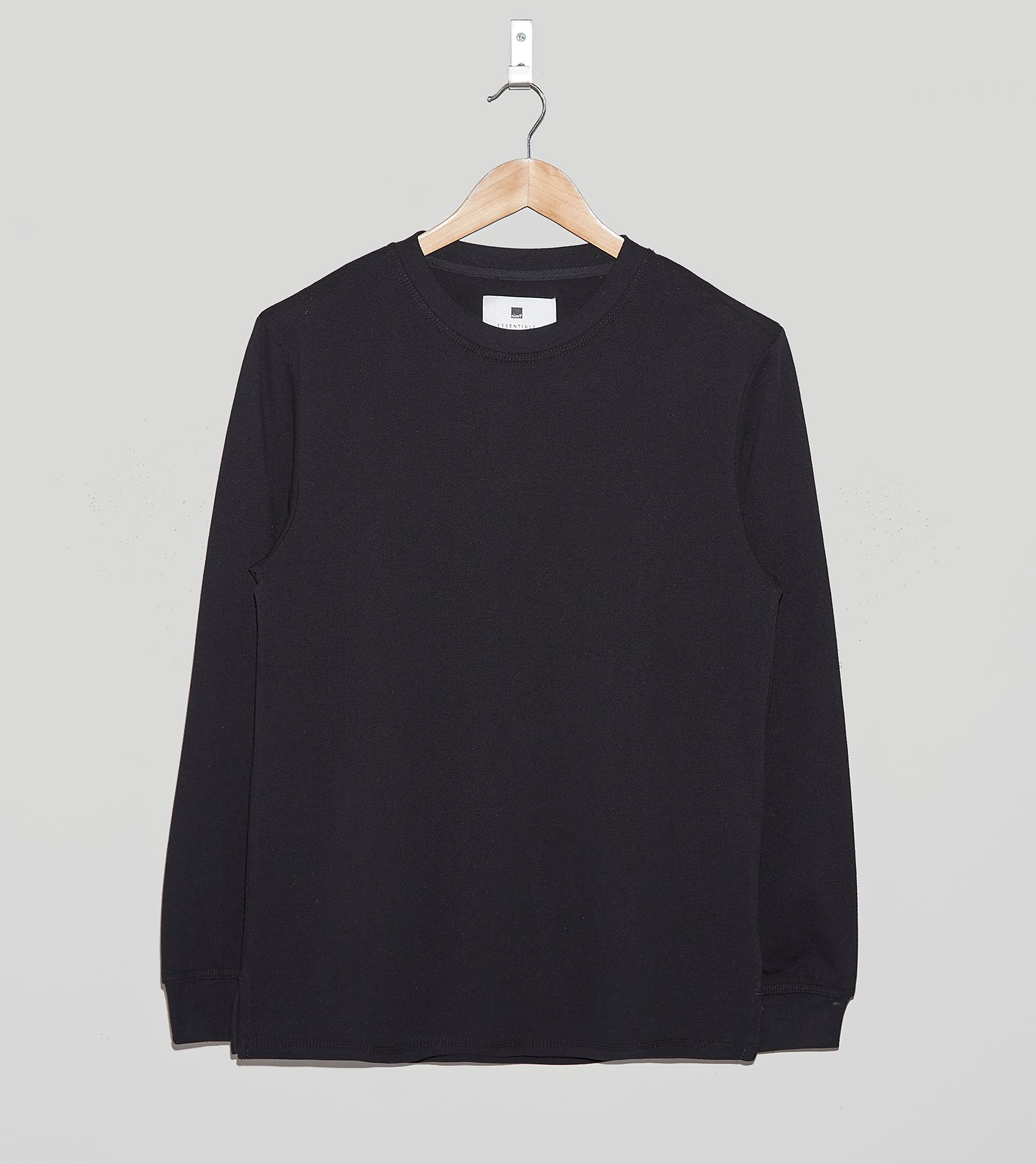 size? Essentials Pique Long-Sleeved T-Shirt