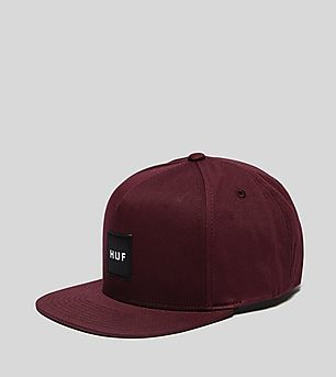 HUF Box Logo Essentials Snapback Cap