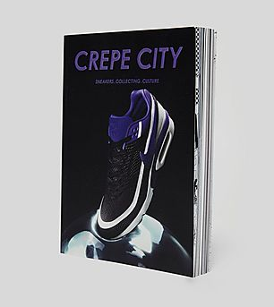 Crepe City Magazine: Issue 02 Nike Air Max BW Cover