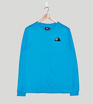 Stussy 8 Ball Long-Sleeved Pocket T-Shirt