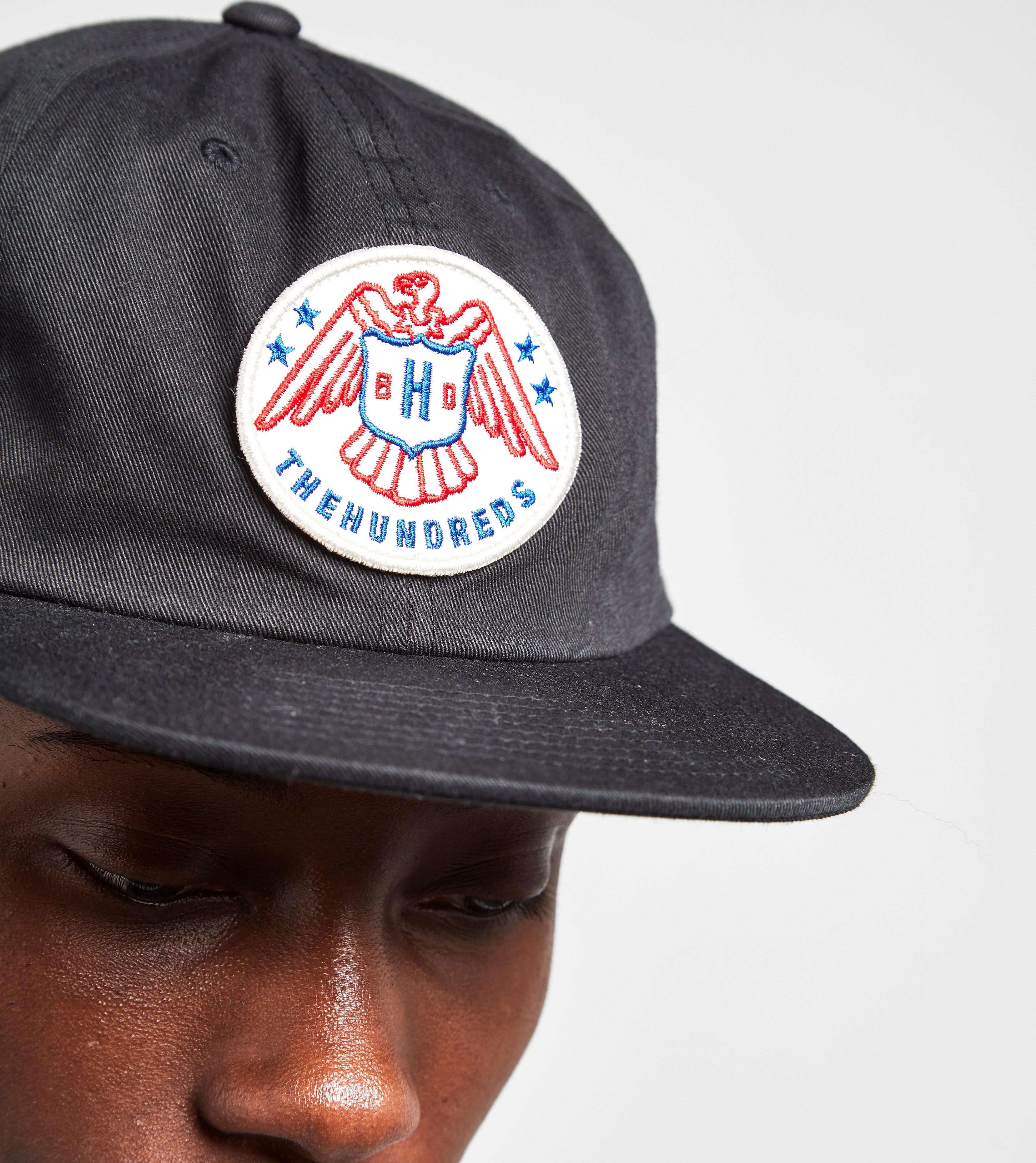 The Hundreds Malone Badge Strapback Cap
