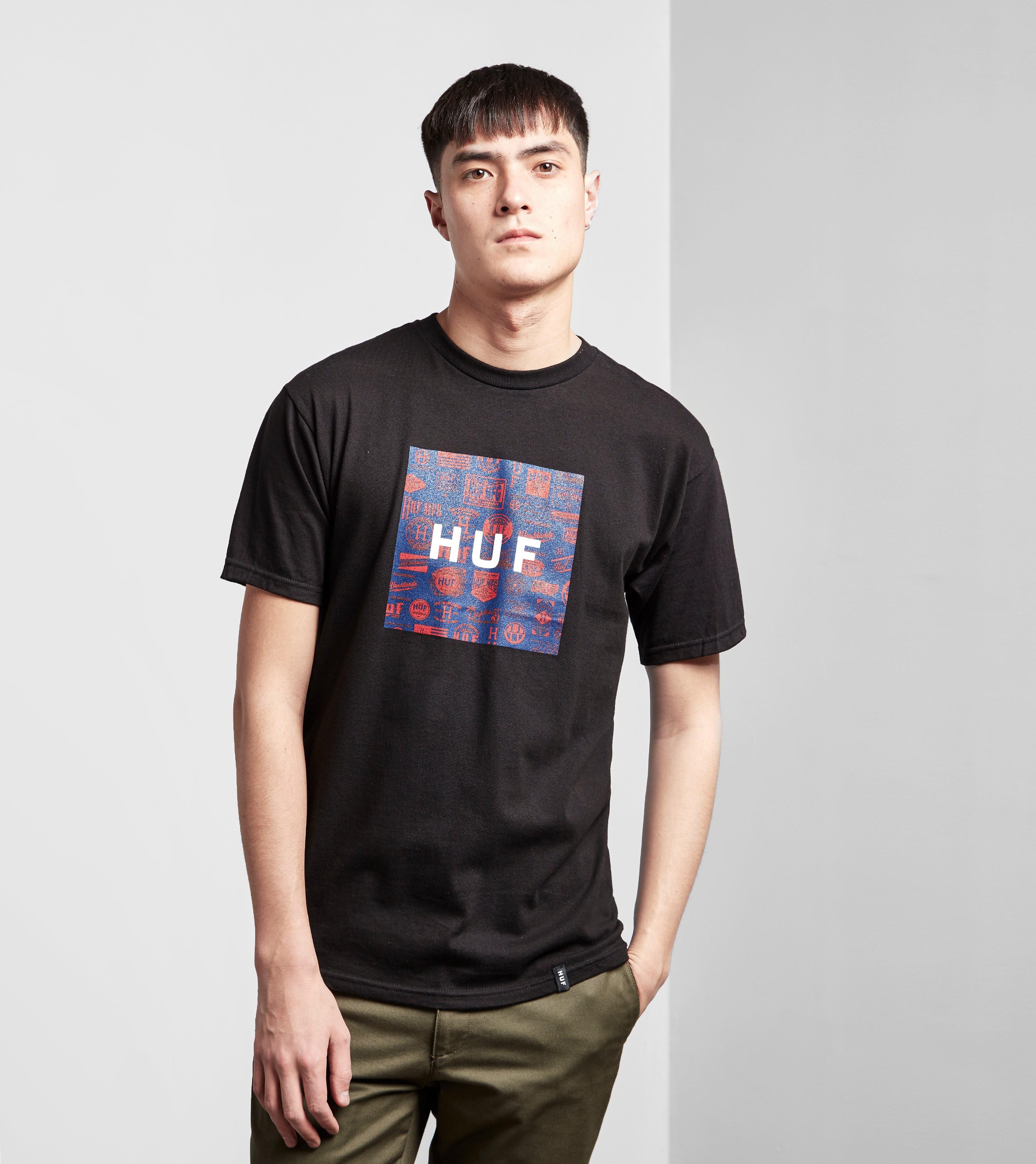 HUF Heritage Box Logo T-Shirt