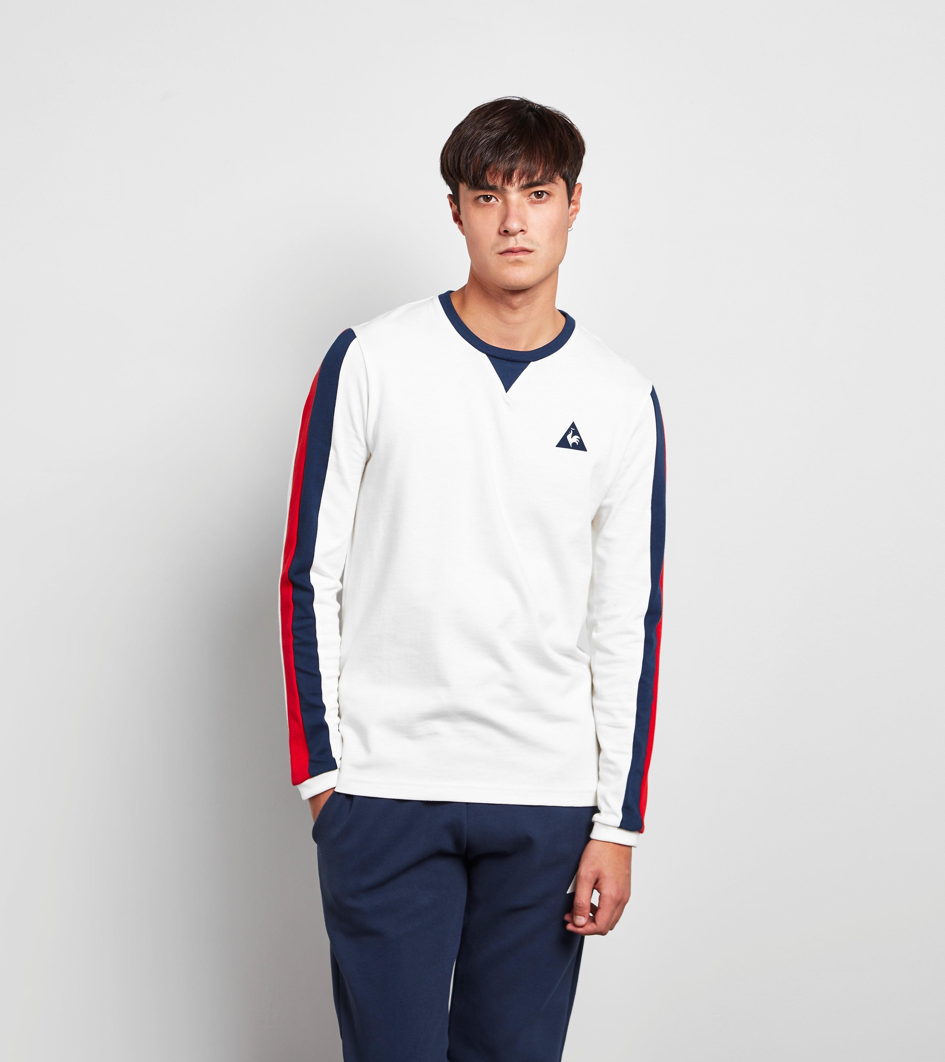 Le Coq Sportif Long-Sleeved Tricolore T-Shirt