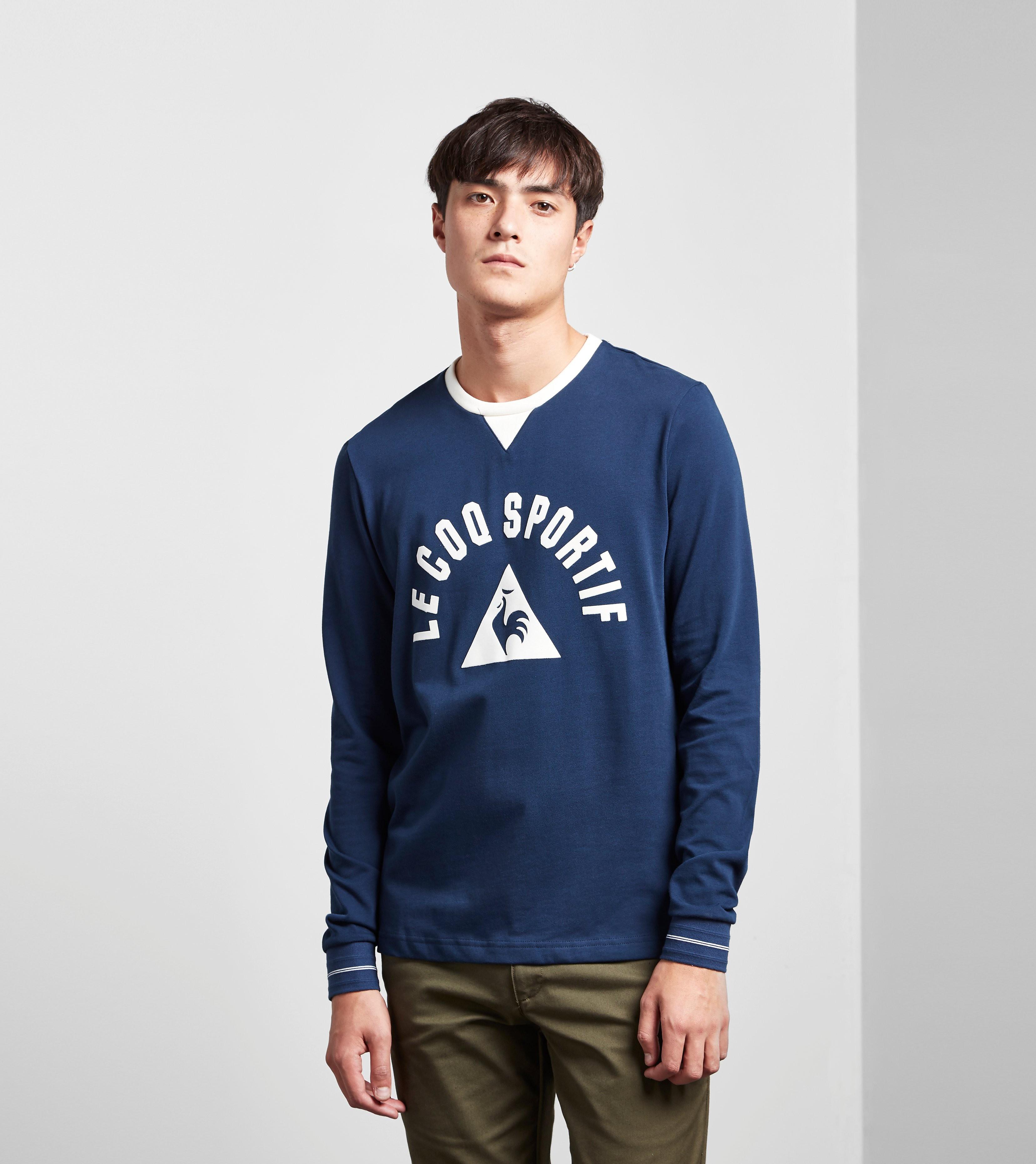Le Coq Sportif Long-Sleeved St Etienne 'Revival' T-Shirt