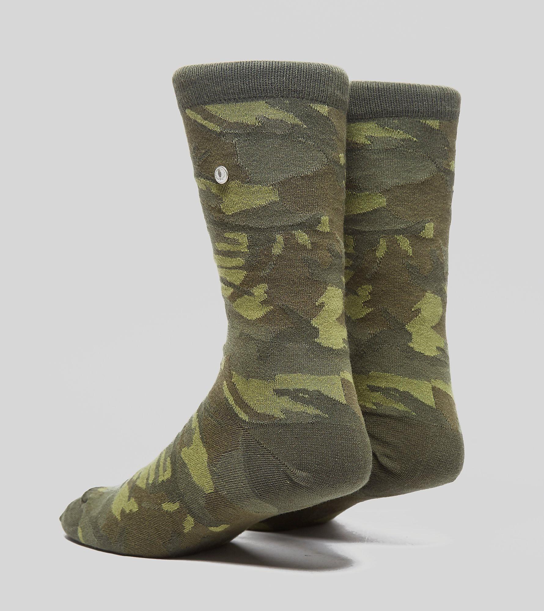 Fred Perry Tonal Camo Socks