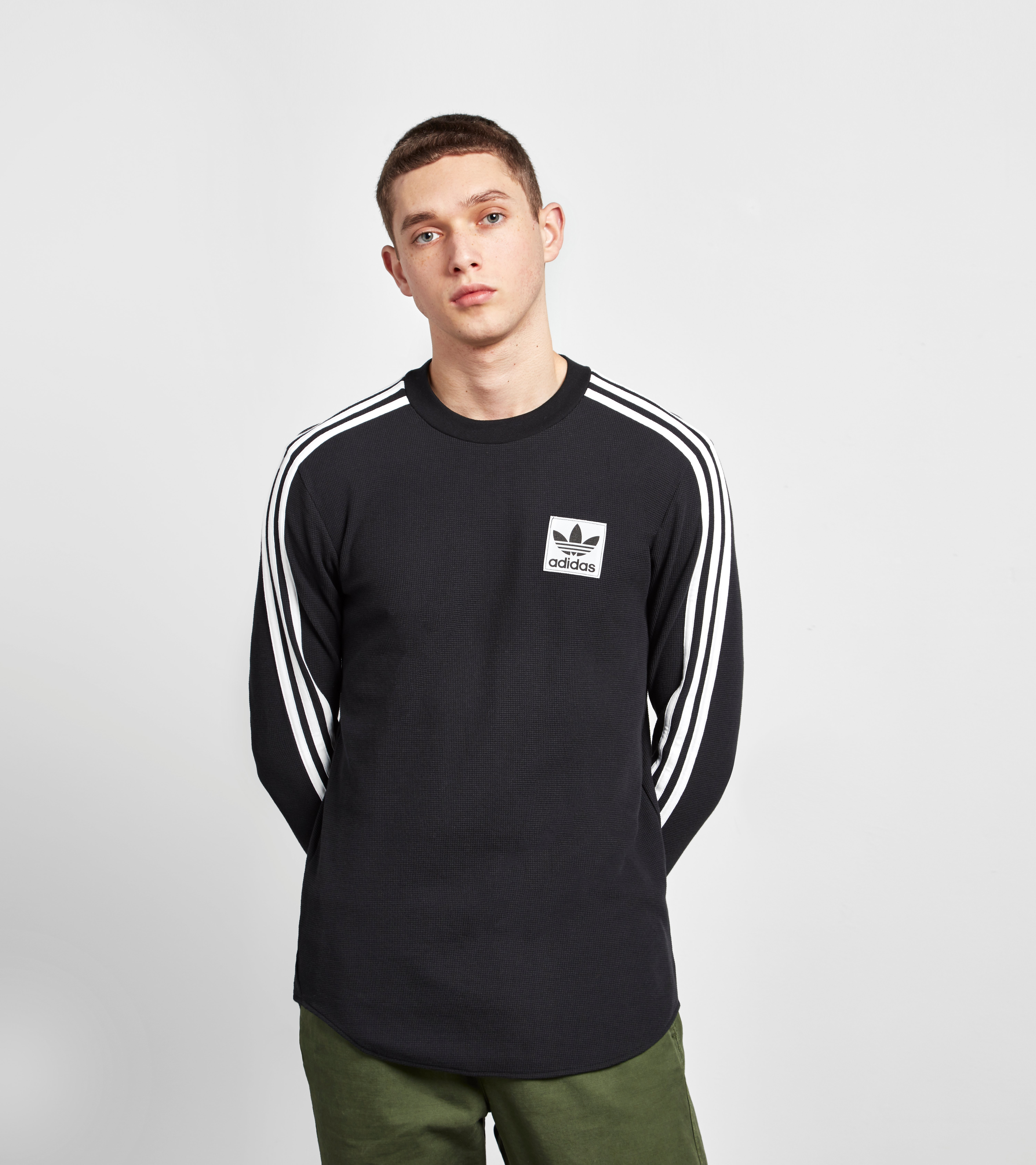 adidas Originals Long-Sleeved Waffle T-Shirt - size? Exclusive
