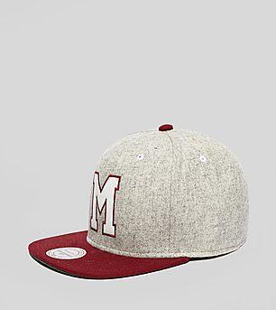 Mitchell & Ness Melange Maroons Snapback Cap