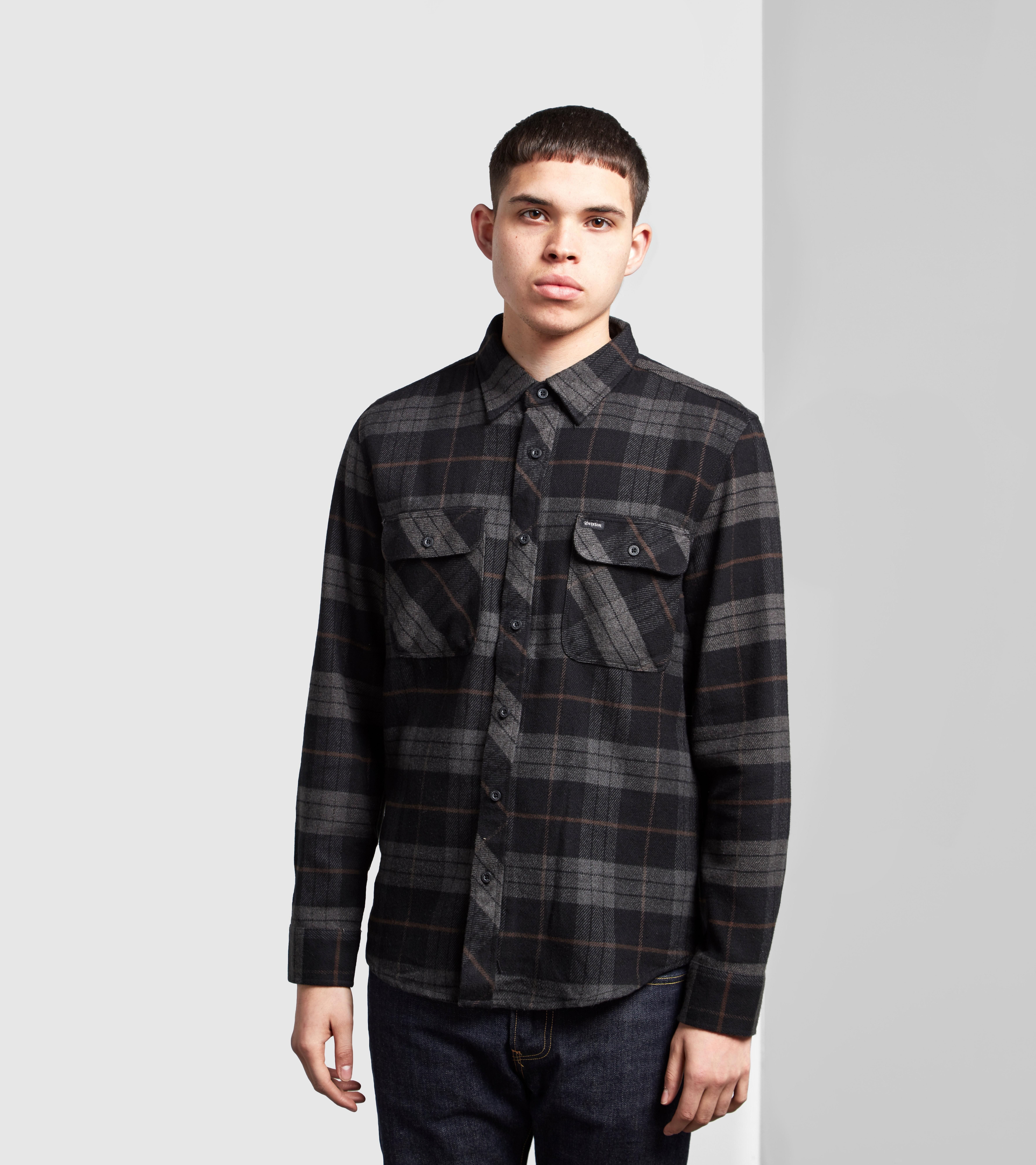 Brixton Bowry Long-Sleeved Checked Shirt