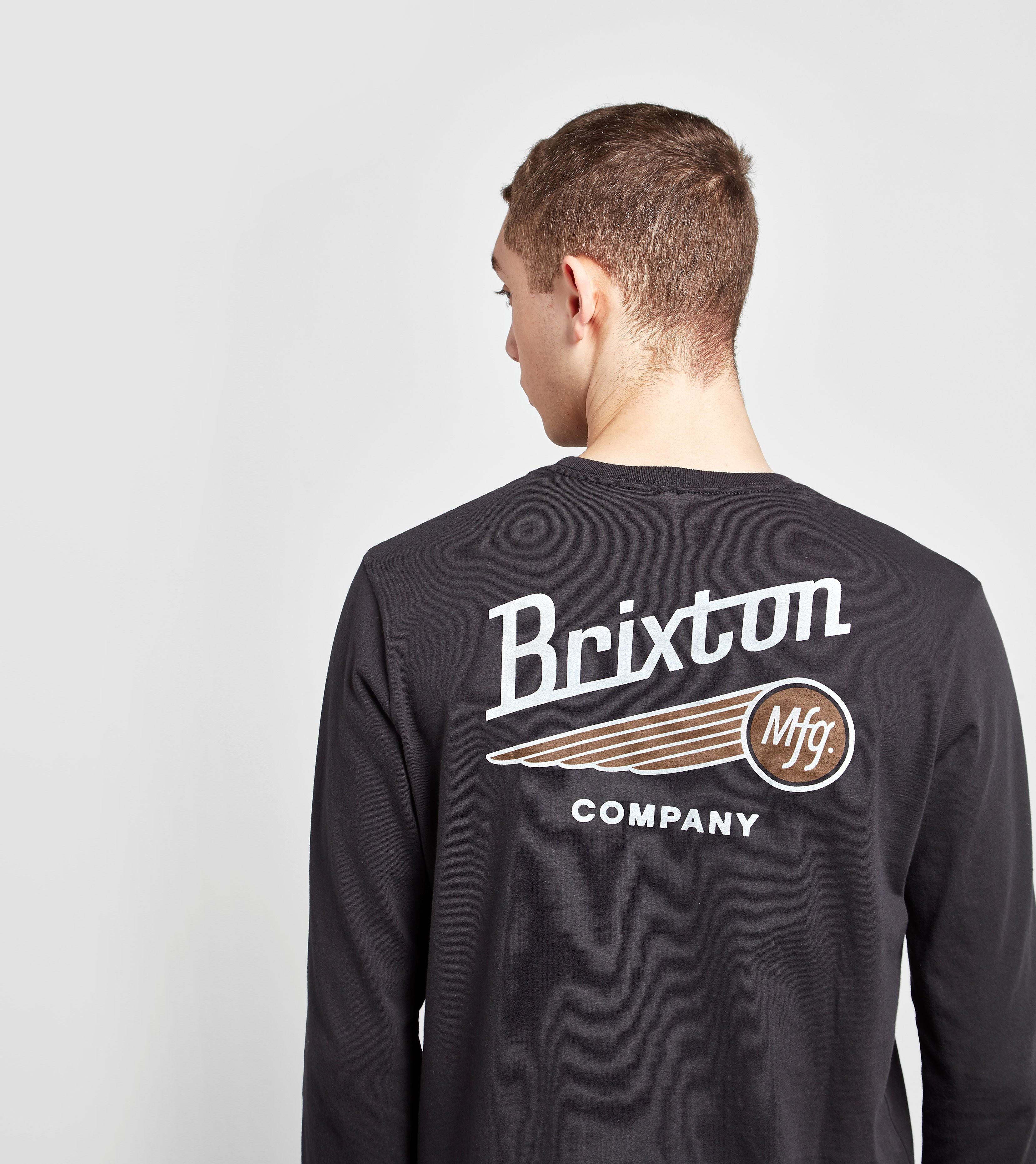 Brixton Long-Sleeved Maverick T-Shirt