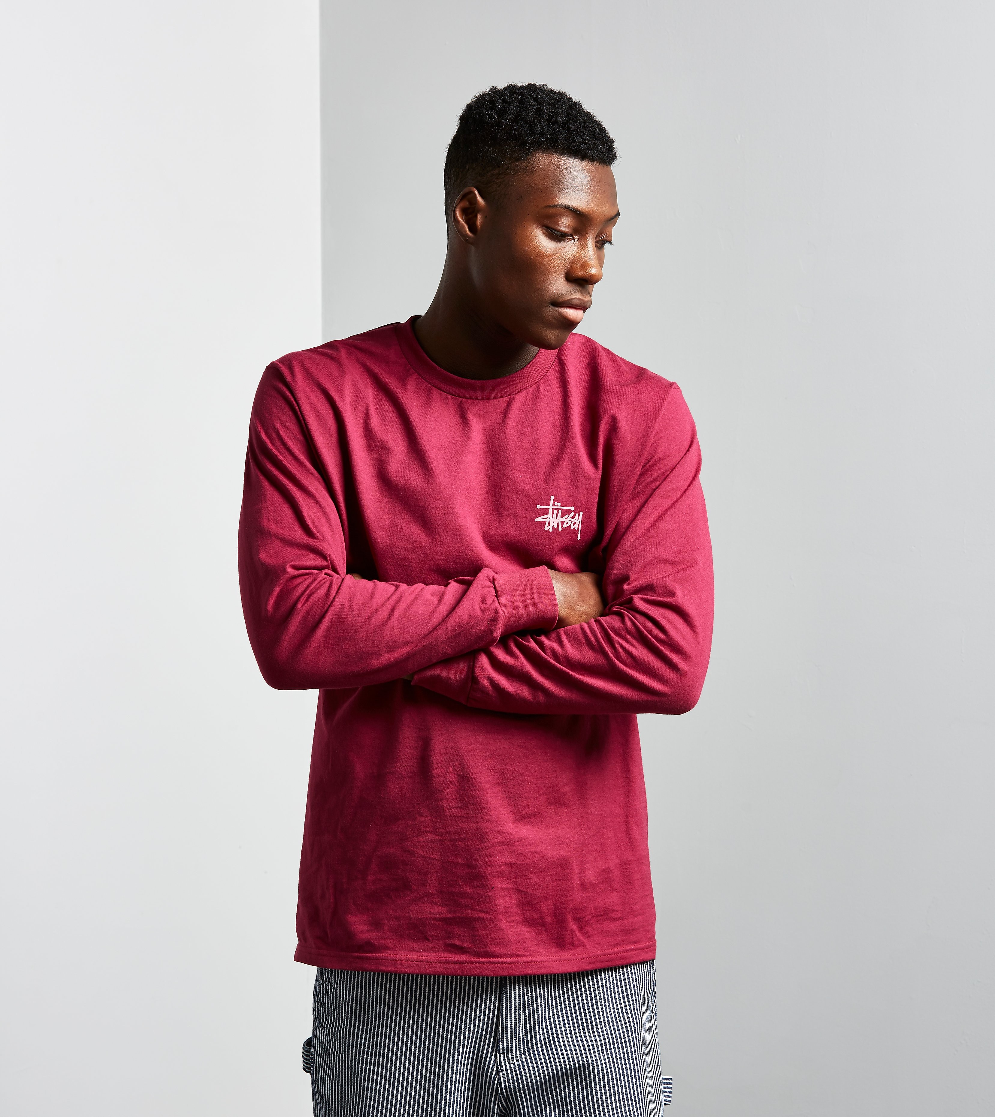 Stussy Long-Sleeved Basic T-Shirt