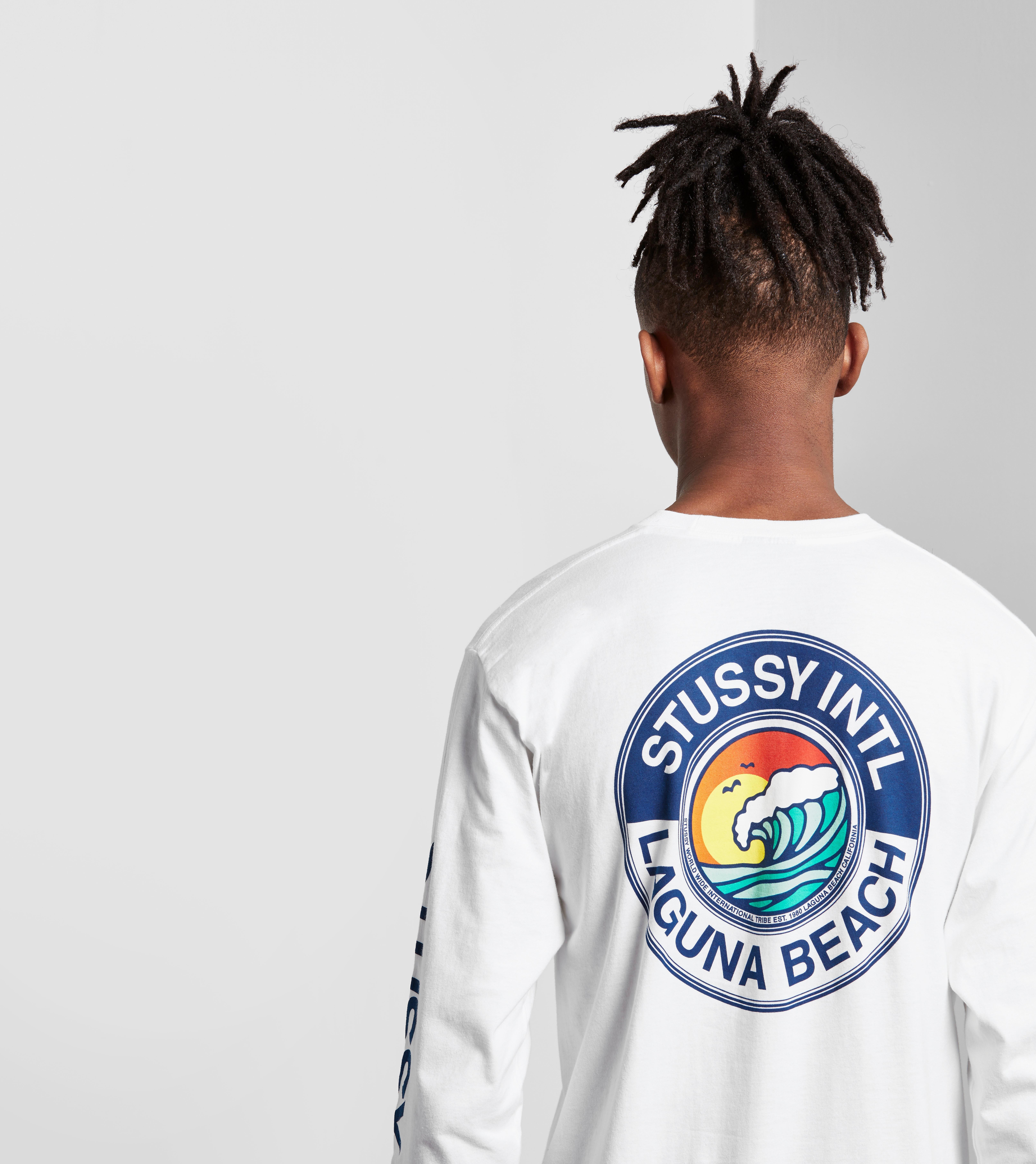 Stussy Long-Sleeved Laguna Beach T-Shirt