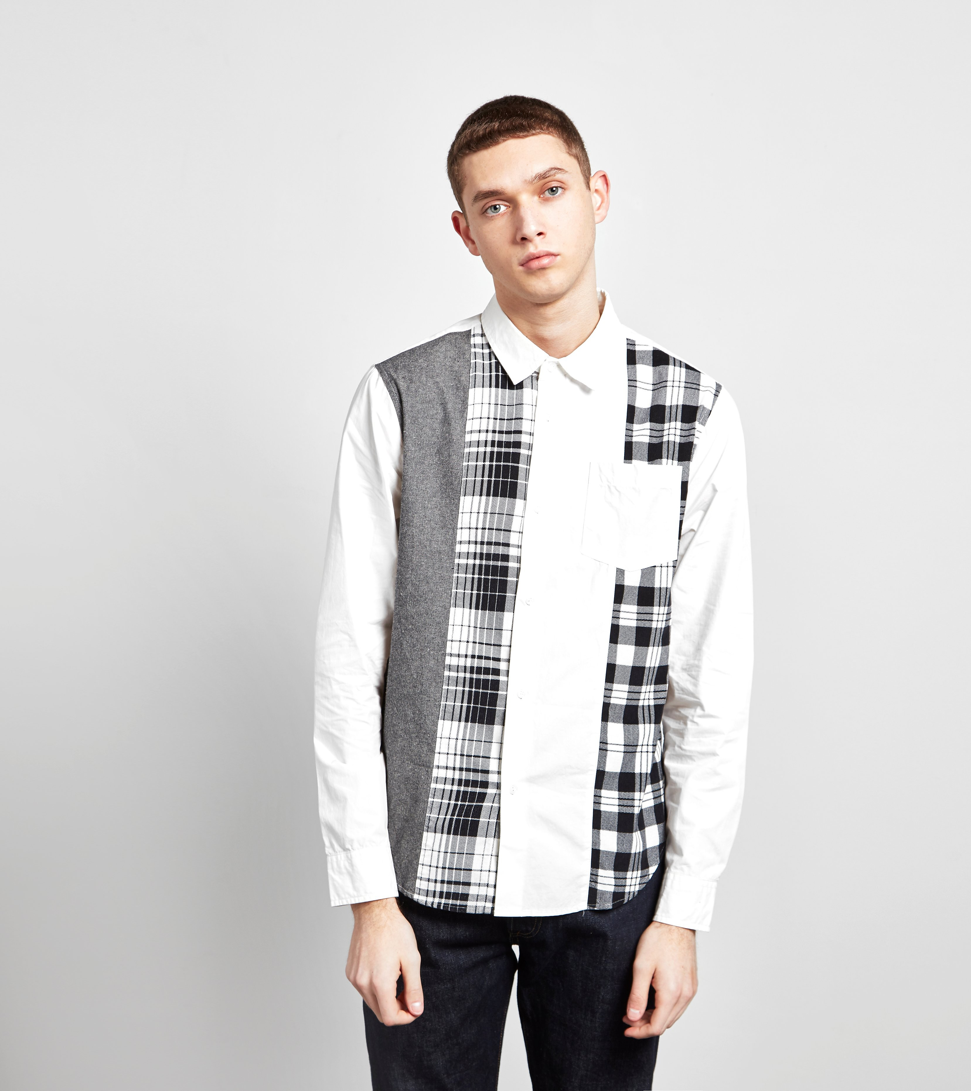 Stussy Mixed Panel Shirt