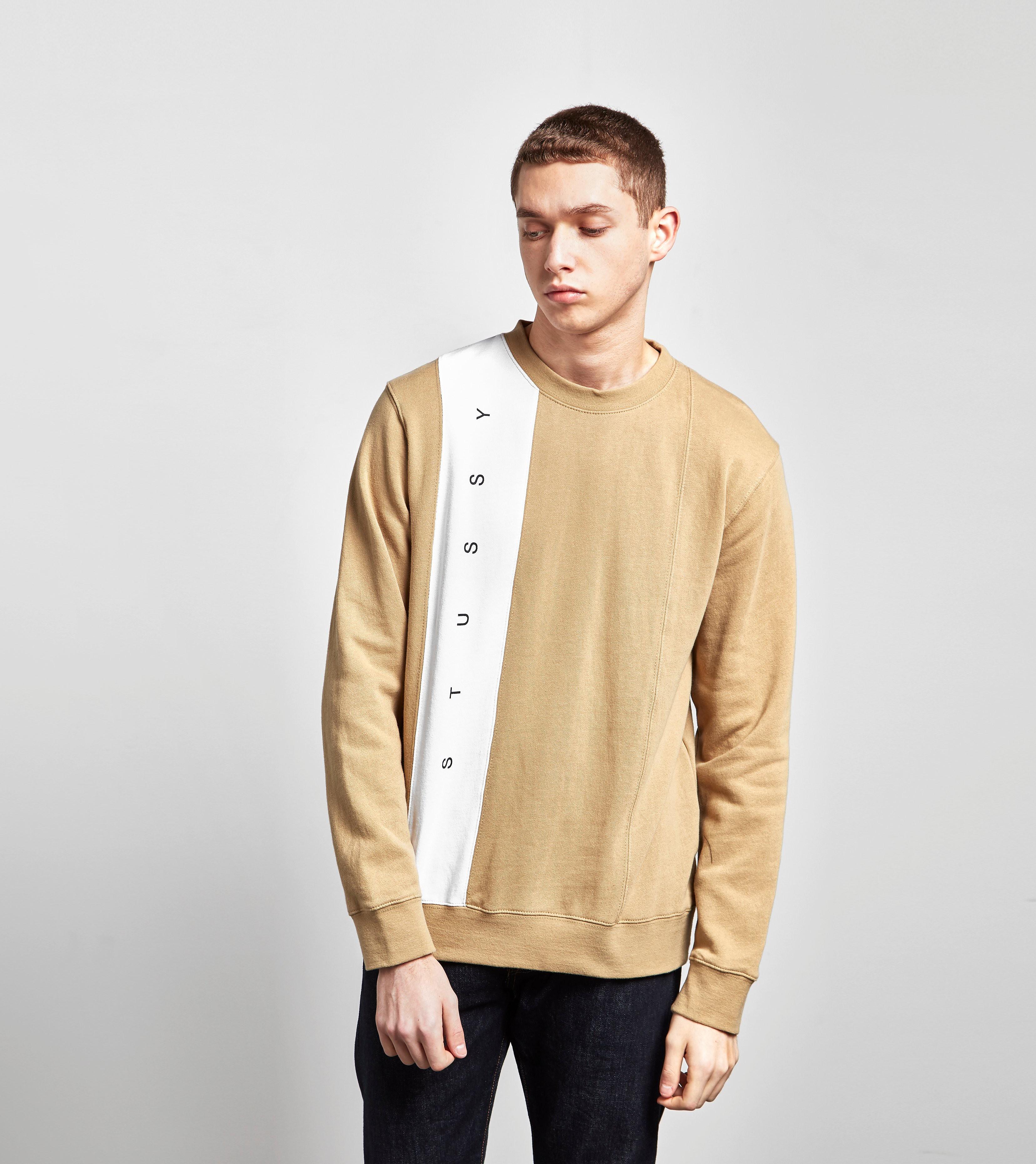 Stussy Panel Crew Neck Sweatshirt