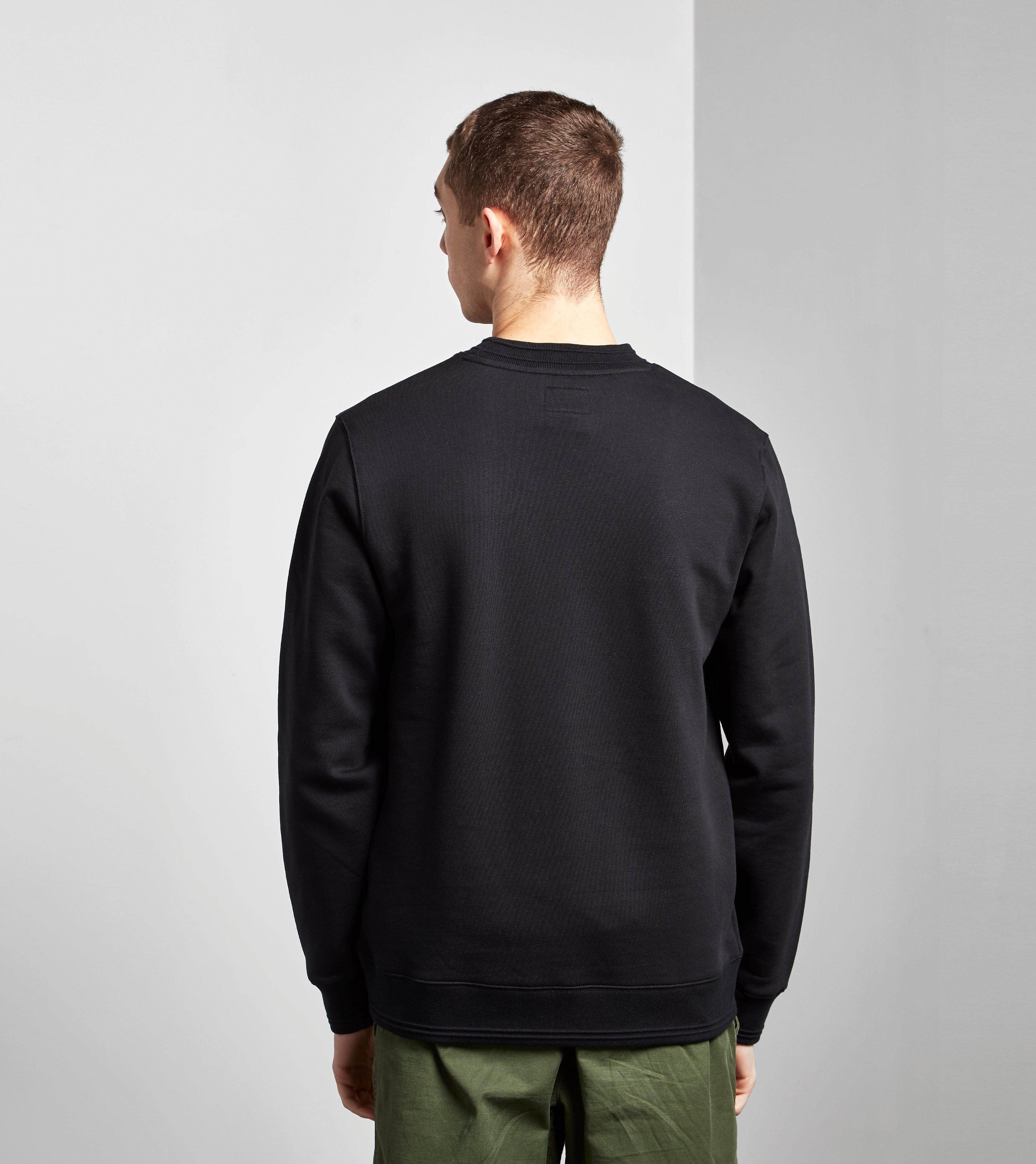 Stussy Jacquard Collar Crew Sweatshirt