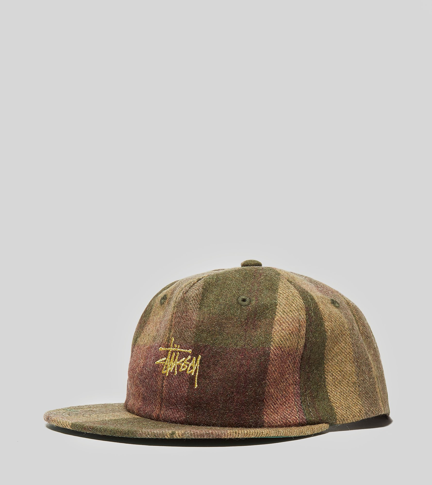 Stussy Smooth Wool Snapback Cap