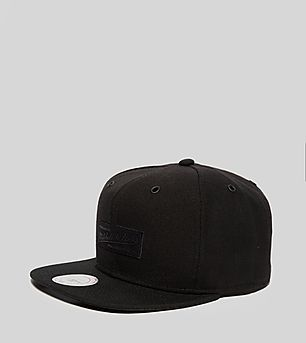Mitchell & Ness Suede Box Logo Snapback Cap - size? Exclusive