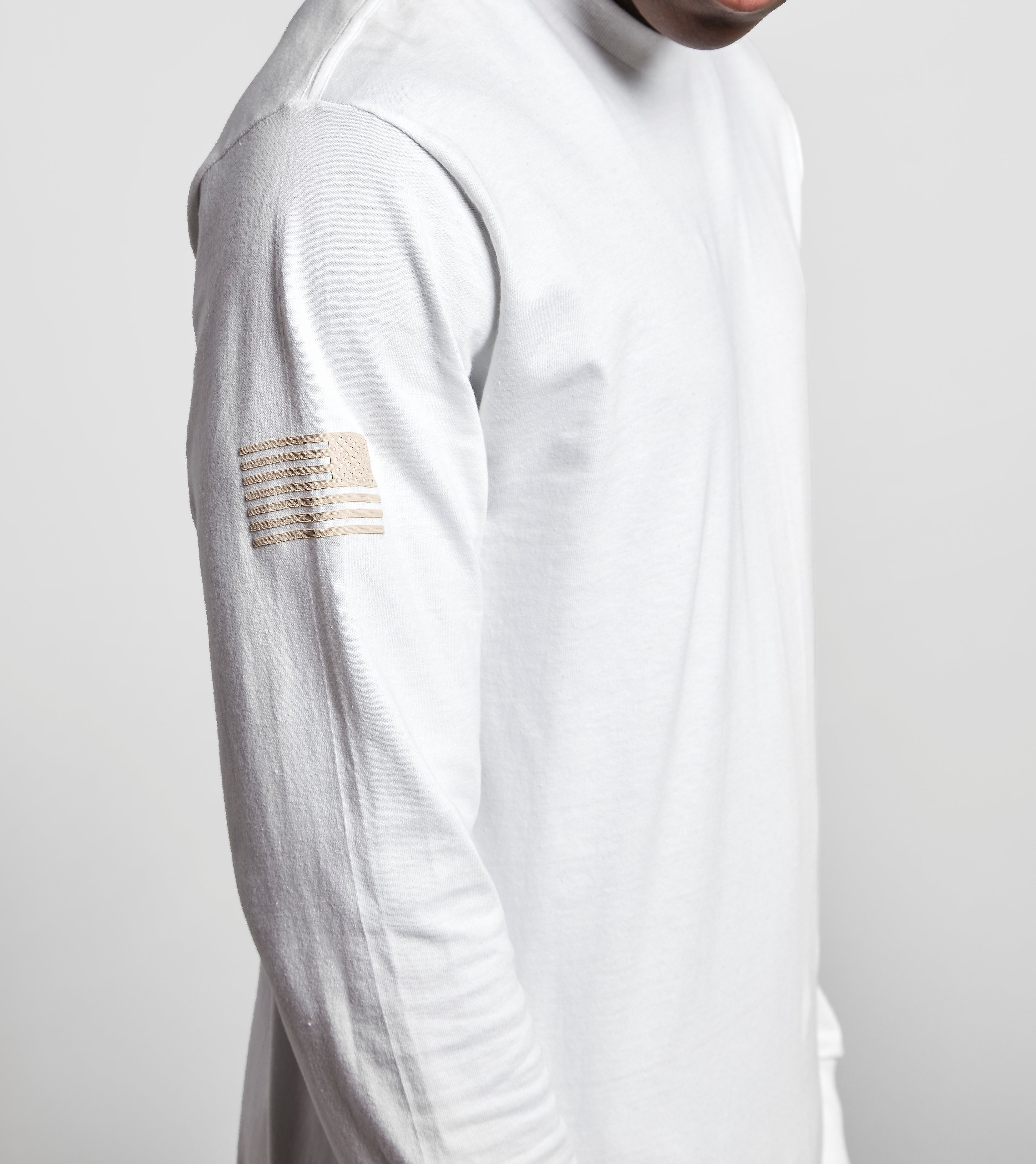 Undefeated Long-Sleeved Patch T-Shirt