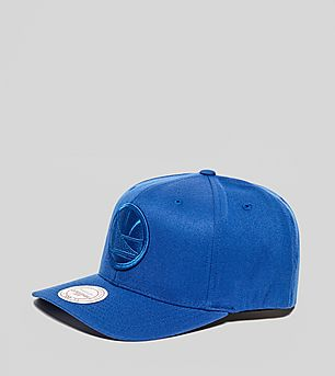 Mitchell & Ness Golden State Warriors Curved Snapback Cap