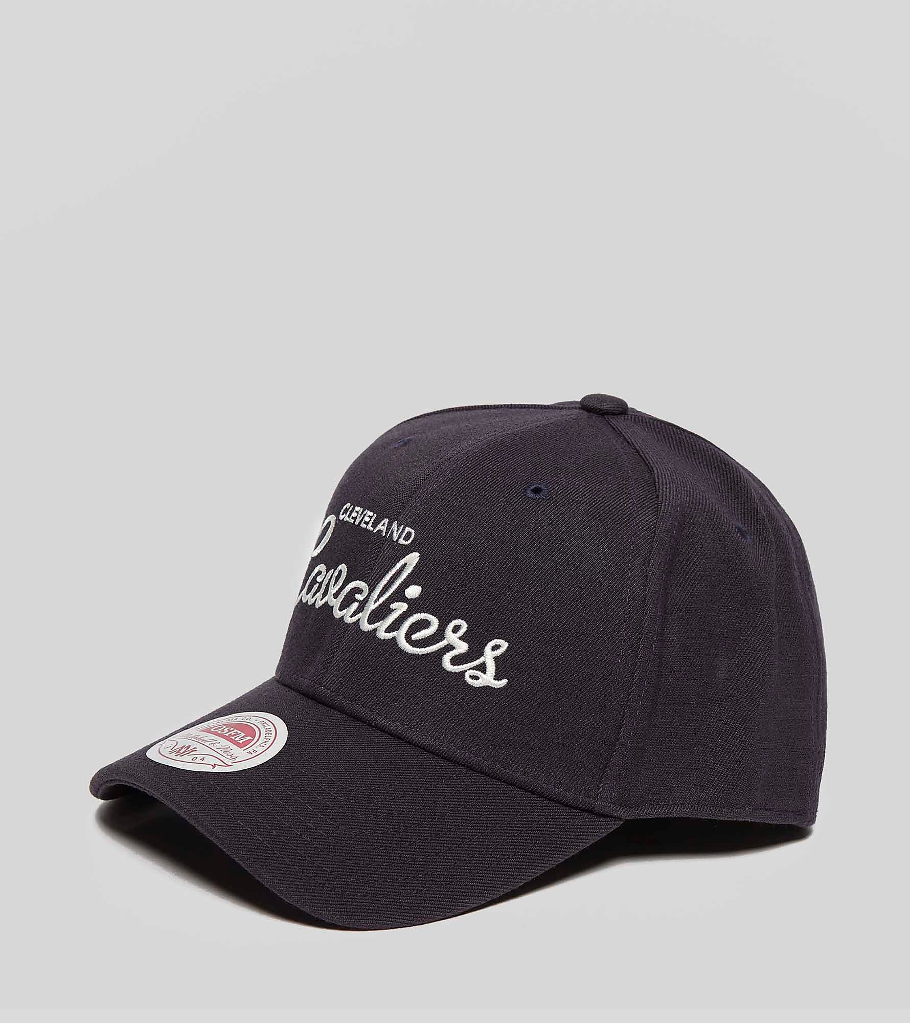 Mitchell & Ness Classic Curved Script Fitted Cap