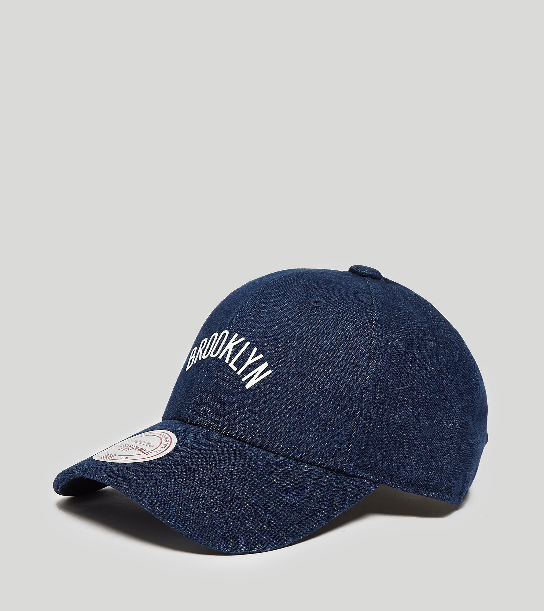 Mitchell & Ness Denim Curved Brooklyn Cap