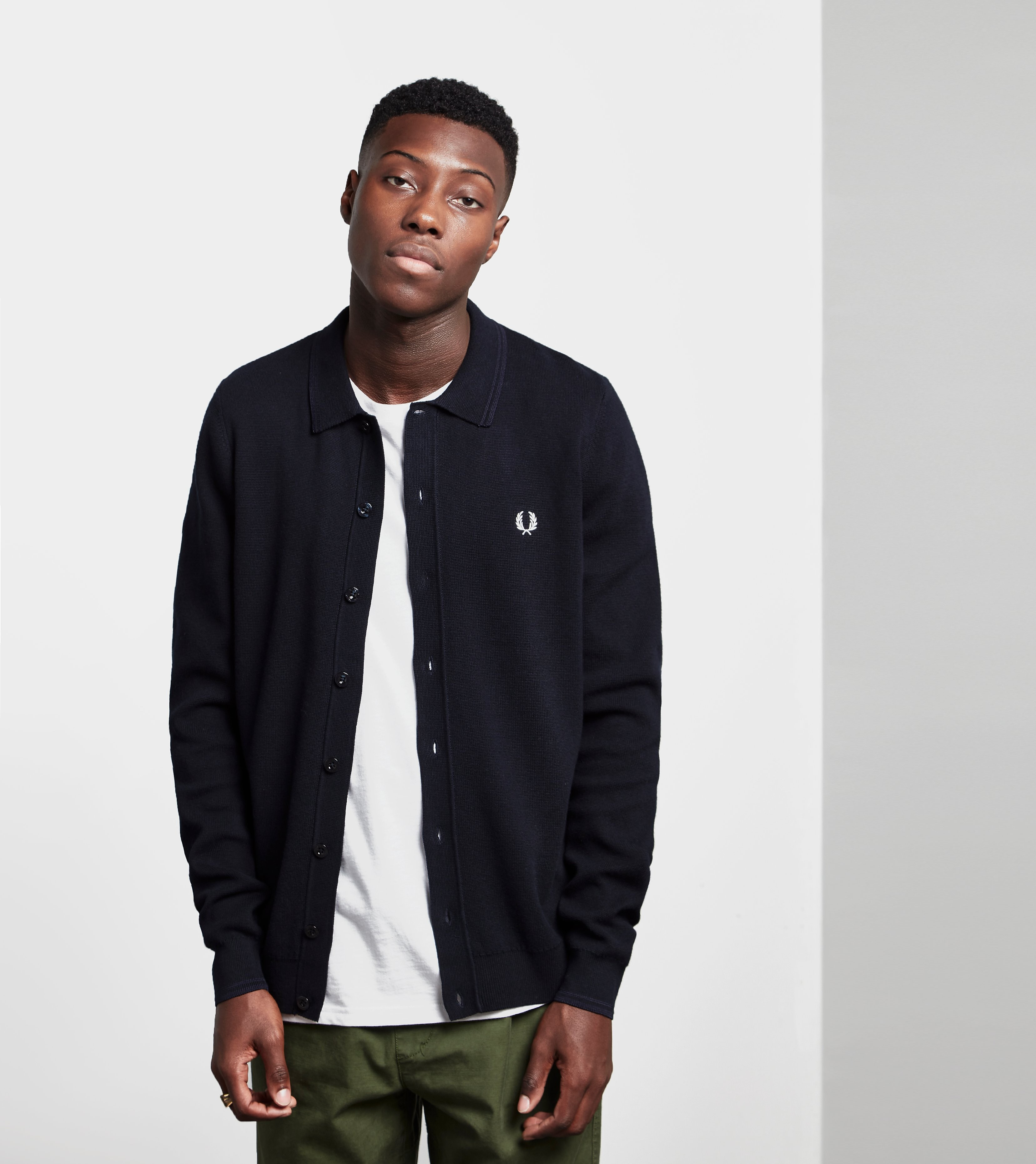 Fred Perry Twin Tipped Cardigan