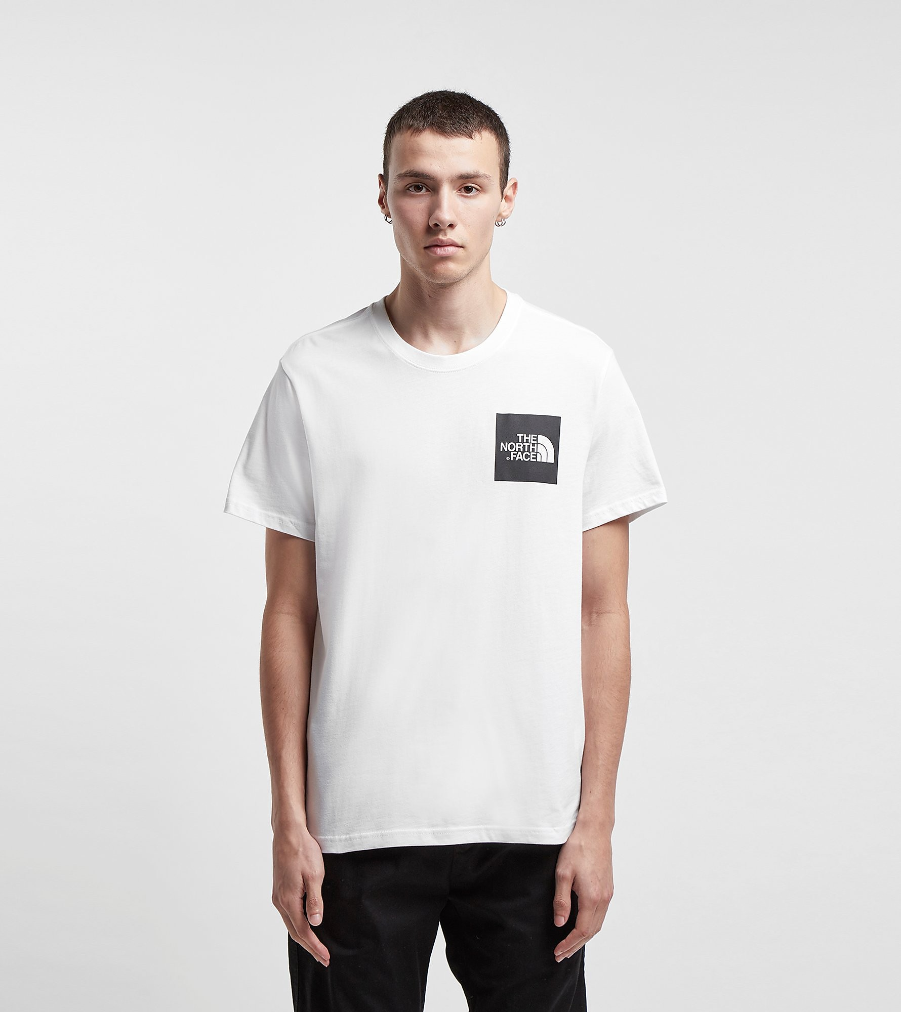 The North Face Fine Box White