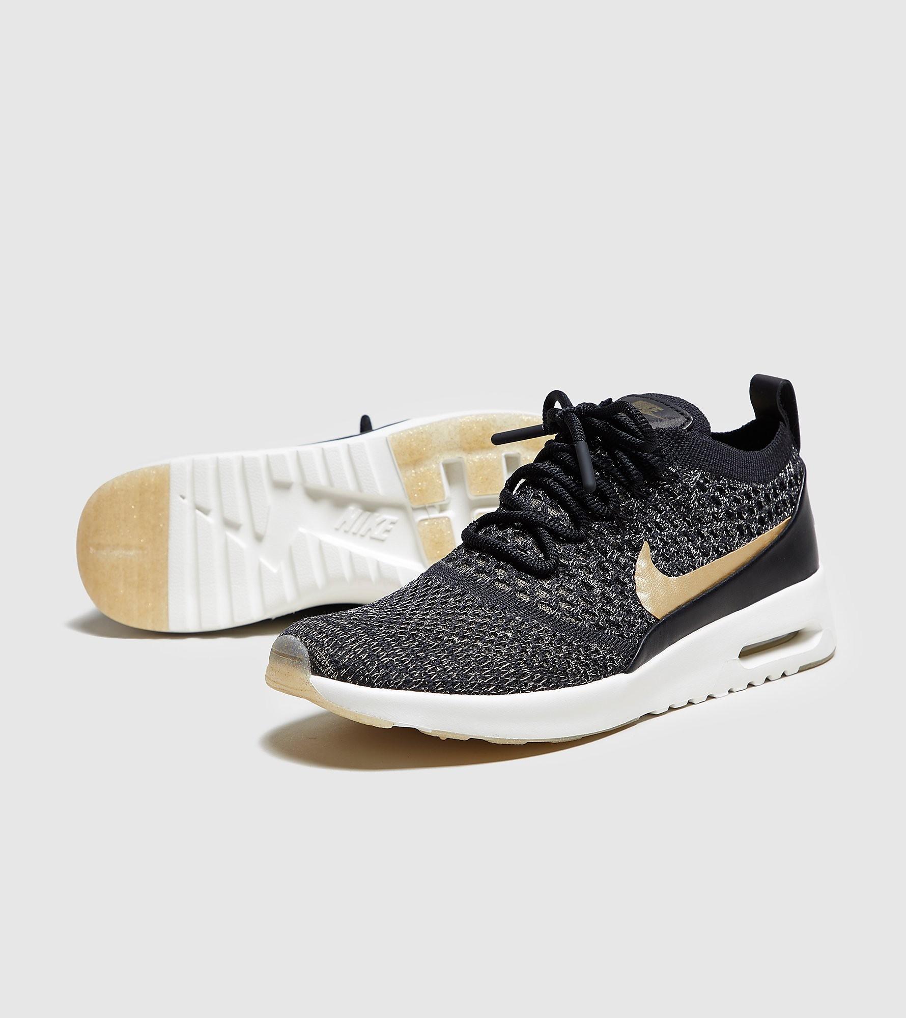 Nike Air Max Thea Flyknit Metallic Women's
