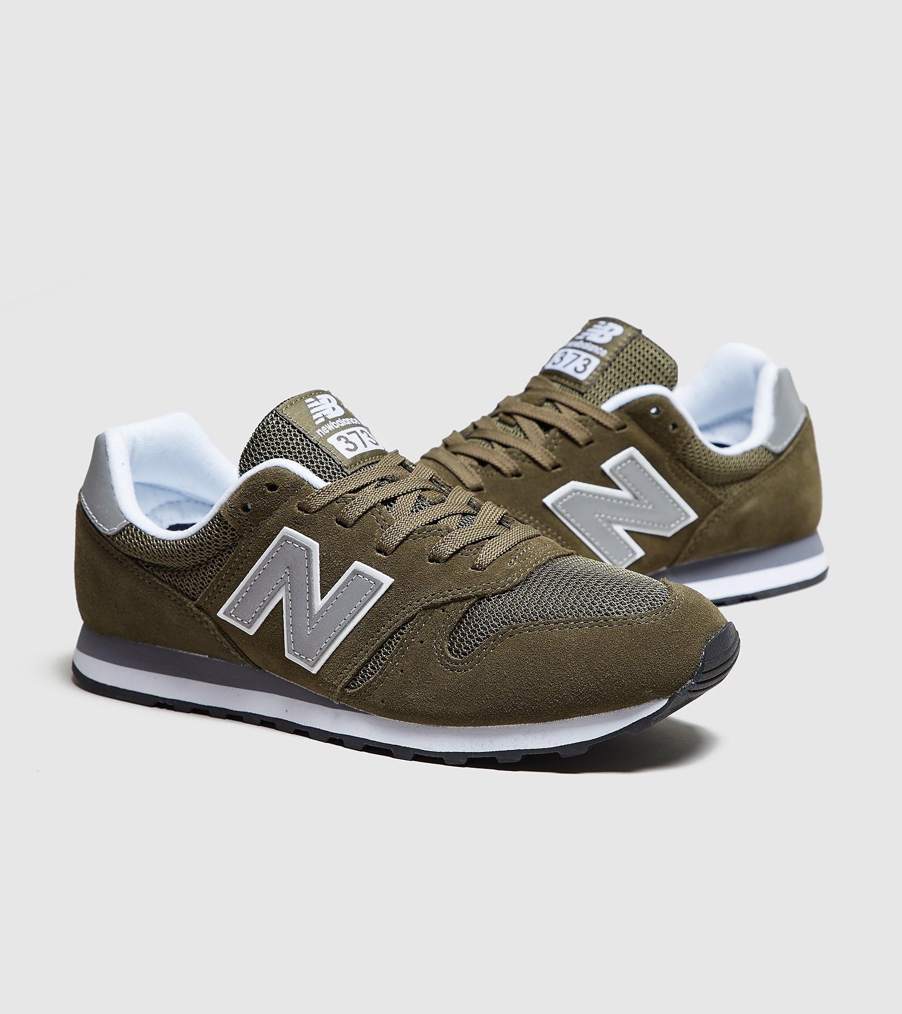 New Balance 373, verde/plateado
