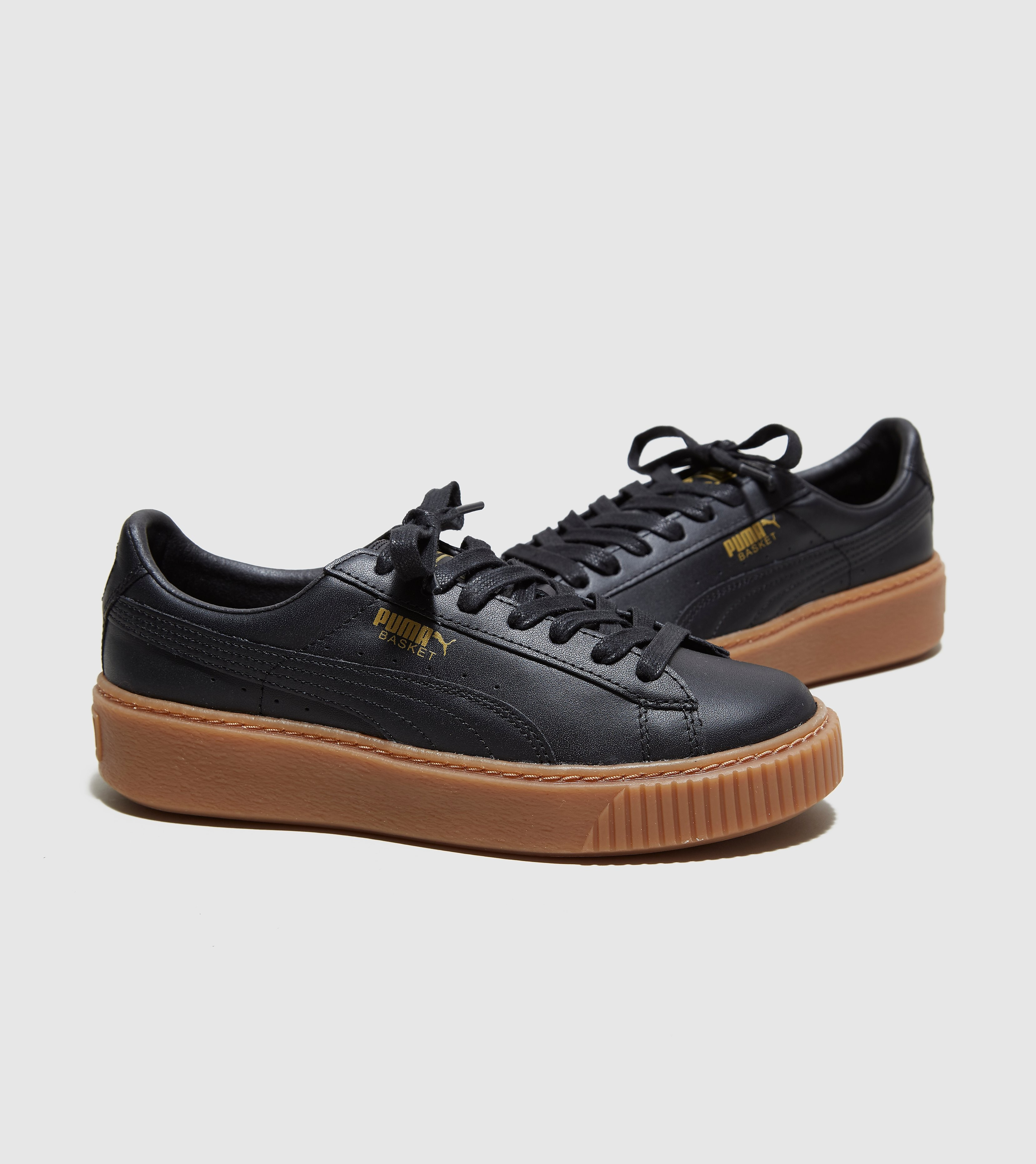 PUMA Basket Platform Leather Women's