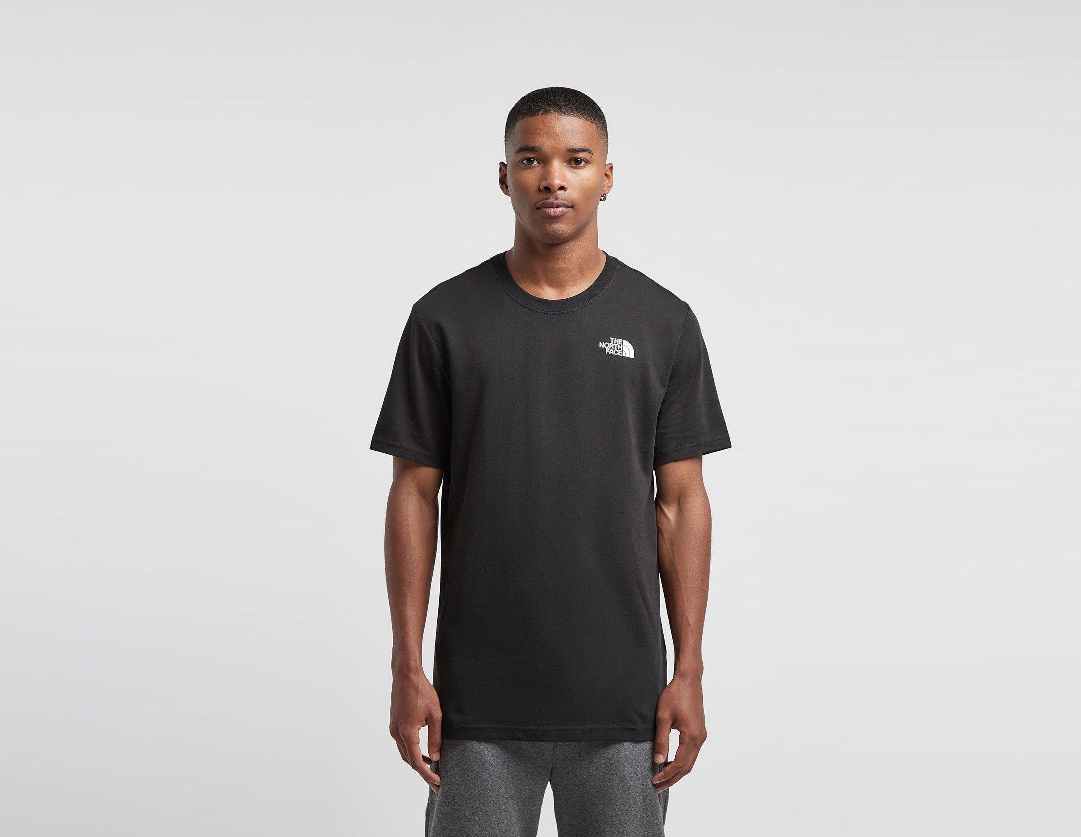 The North Face Redbox Celebration T-shirt, Zwart
