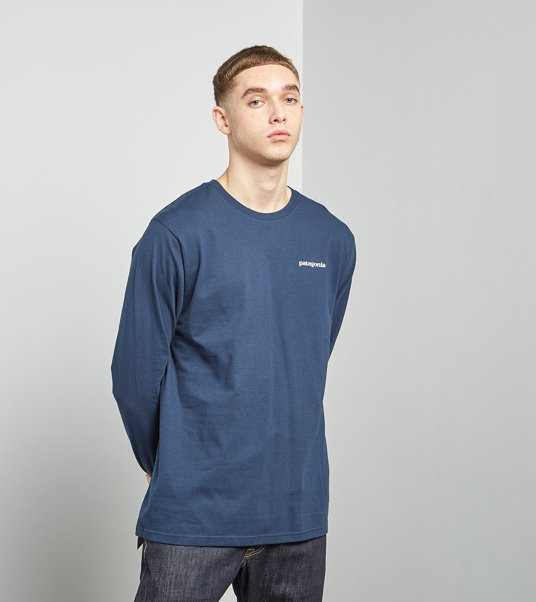 Patagonia Long-Sleeved P-6 Logo T-Shirt