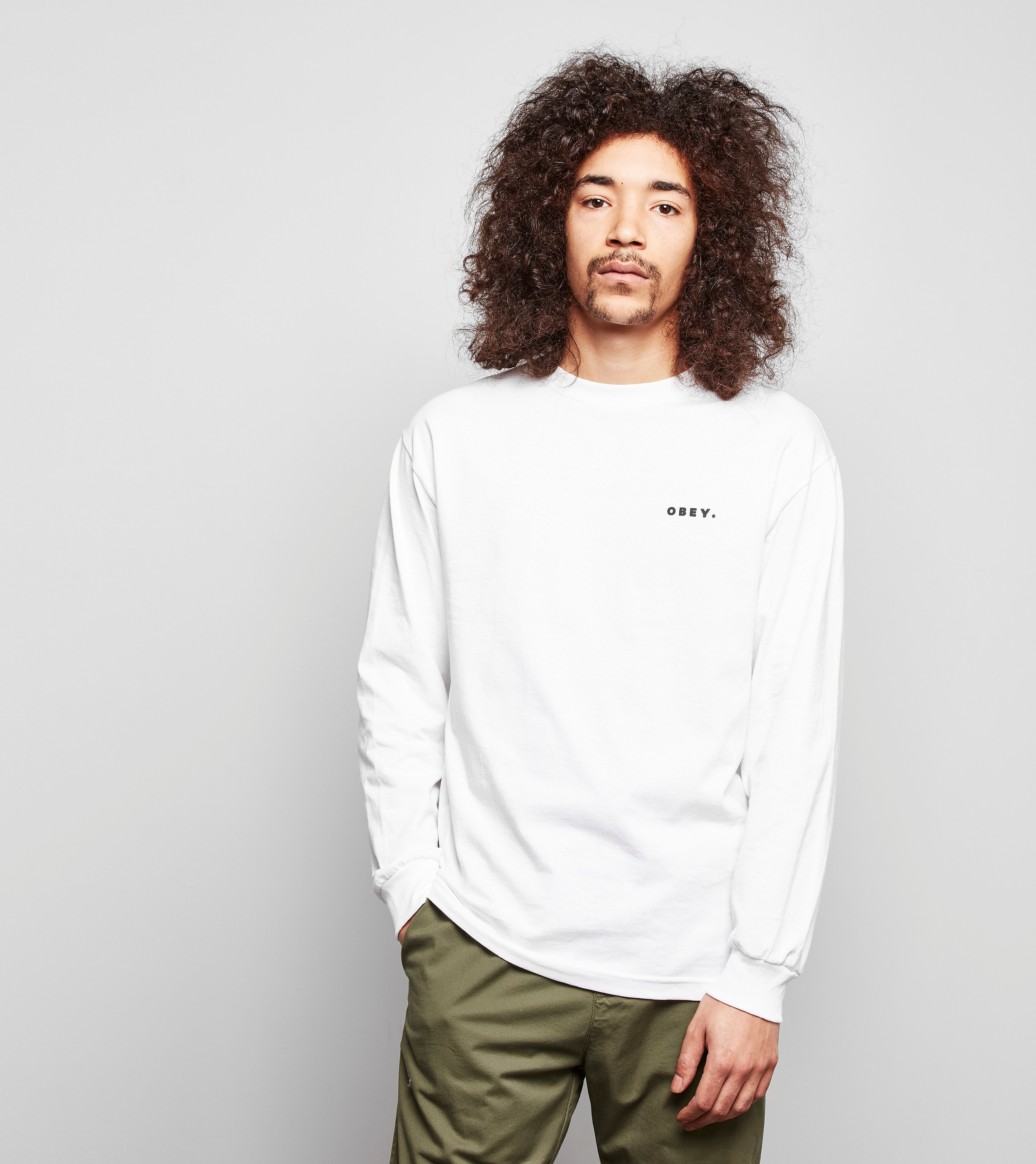 Obey Long Sleeved Underground T-Shirt